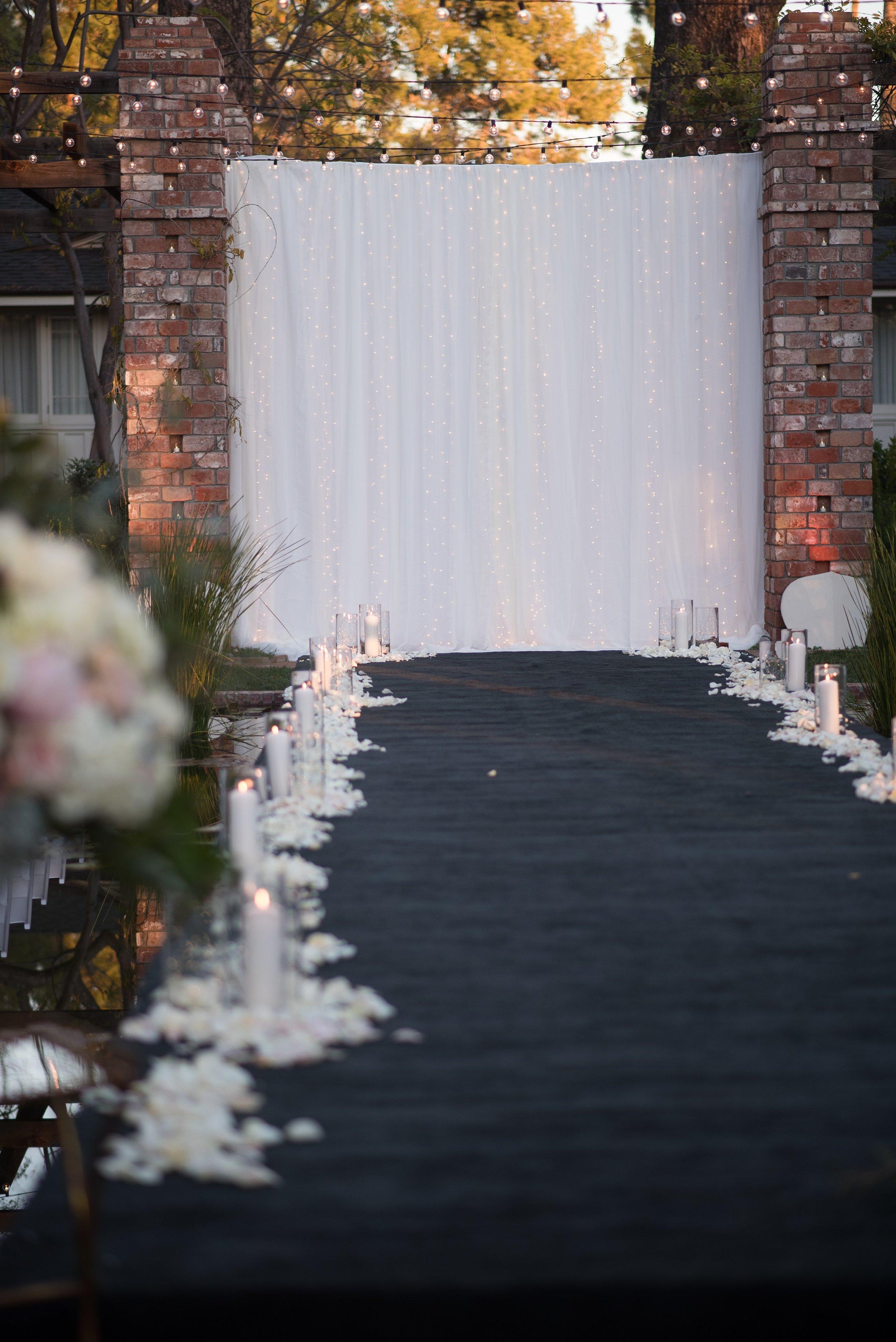 www.santabarbaraweddingstyle.com | Santa Barbara Wedding Style | Precious and Blooming | El Encanto Wedding | Nate and Jenny Weddings | Bellavista Designs | Wedding Aisle | Ceremony Decor
