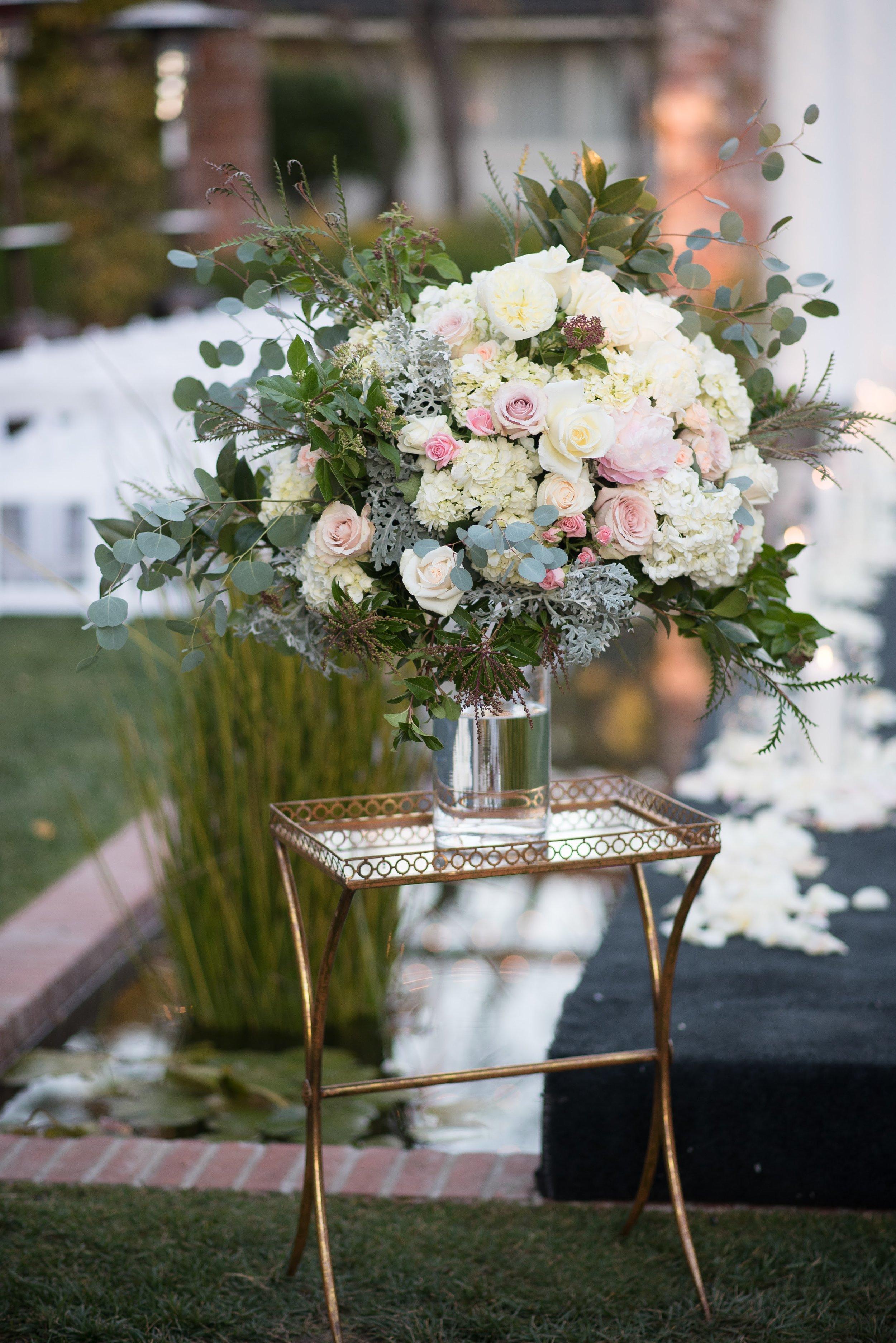 www.santabarbaraweddingstyle.com | Santa Barbara Wedding Style | Precious and Blooming | El Encanto Wedding | Nate and Jenny Weddings | Bellavista Designs | Wedding Aisle | Ceremony Alter Decor