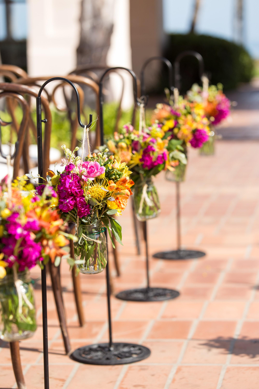 santabarbarawedding.com | Photo: Melissa Musgrove | Colorful Wedding at the Fess Parker DoubleTree Resort