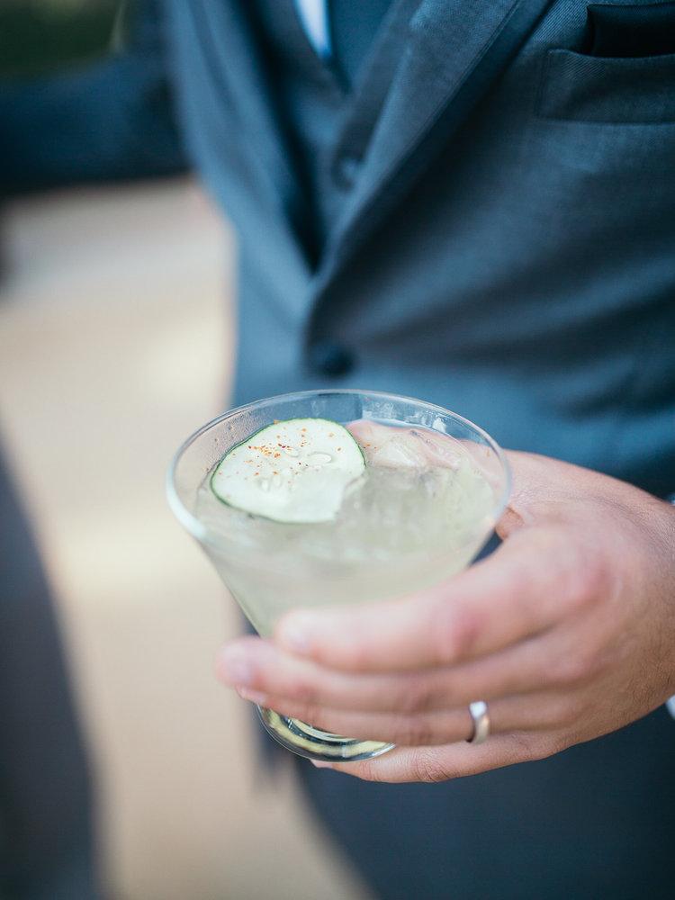 www.santabarbarawedding.com | Kiel Rucker Photography | Signature Drink | Spicy Skinny Margarita | Wedding Cocktail
