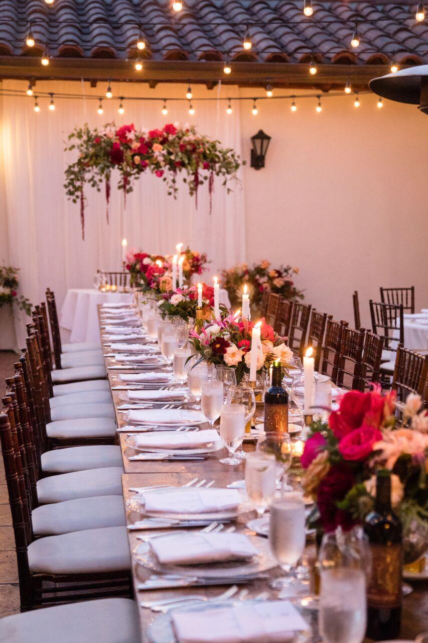 santabarbarawedding.com | Ella & Louie Floral Design | Florist | Wedding Reception | Bacara Resort and Spa