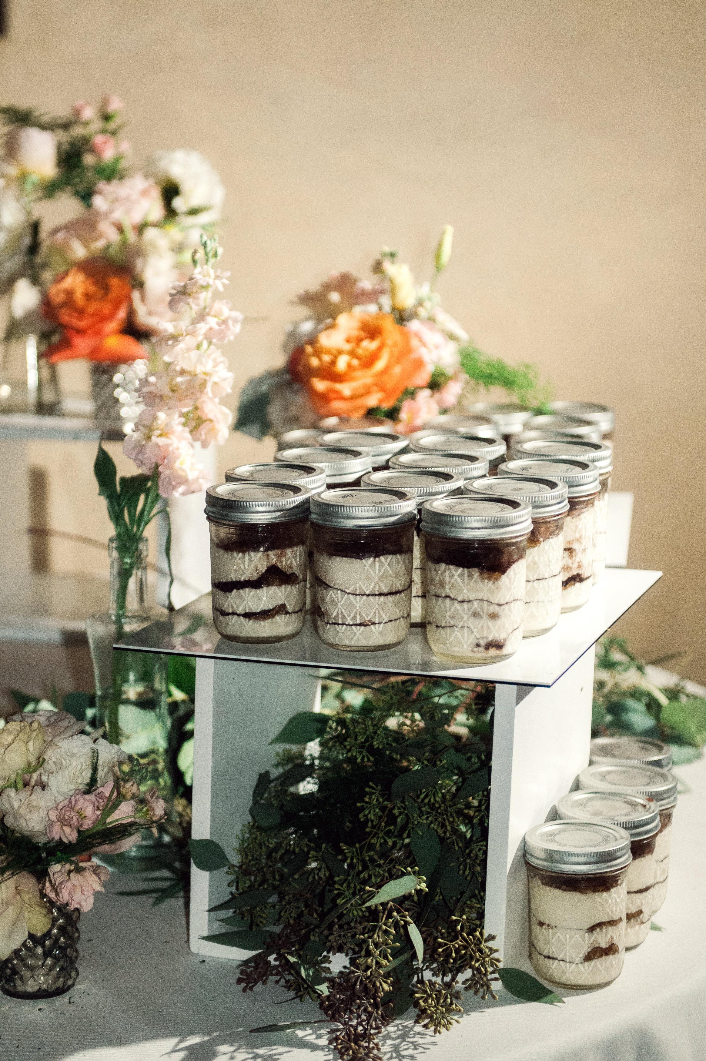 santabarbarawedding.com | Wisteria Lane Flroal Design Studio | Bride and Groom | Garden Roses | Tea Roses | Favor and Dessert Station Decor