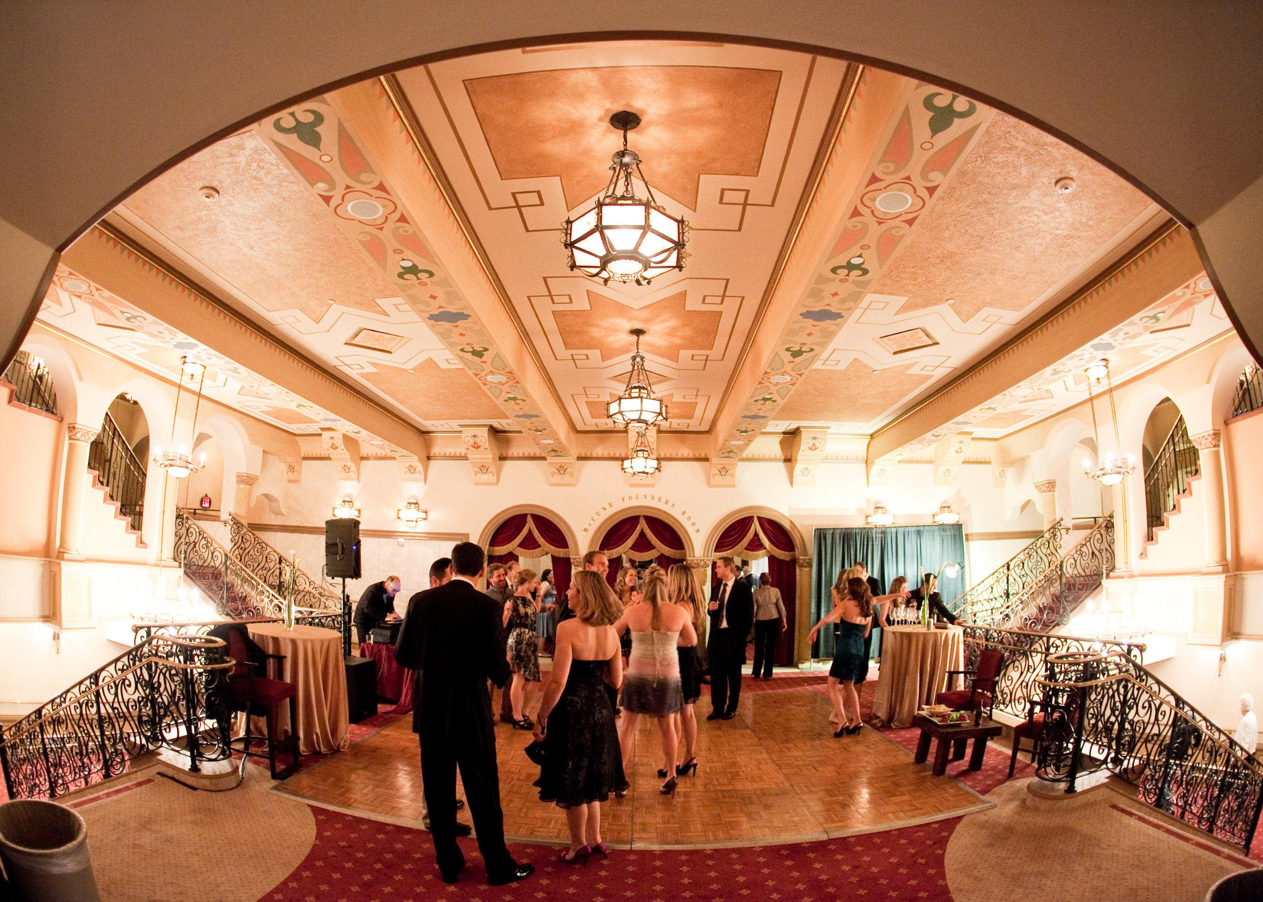 santabarbarawedding.com   The Granada Theatre   Theater Venue   Location Wedding Ceremony   Reception Venue   McCune Foyer