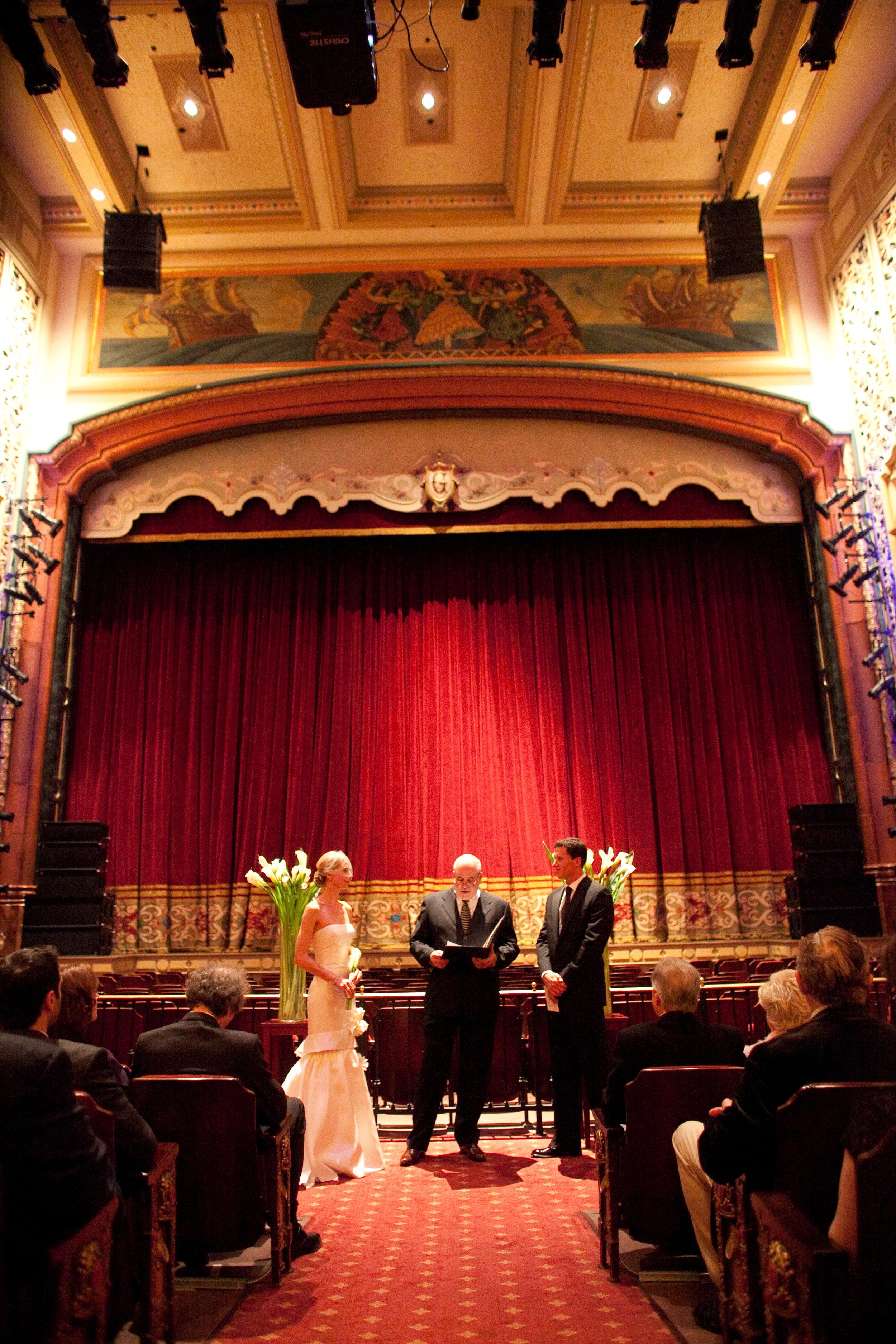 santabarbarawedding.com   The Granada Theatre   Theater Venue   Location Wedding Ceremony