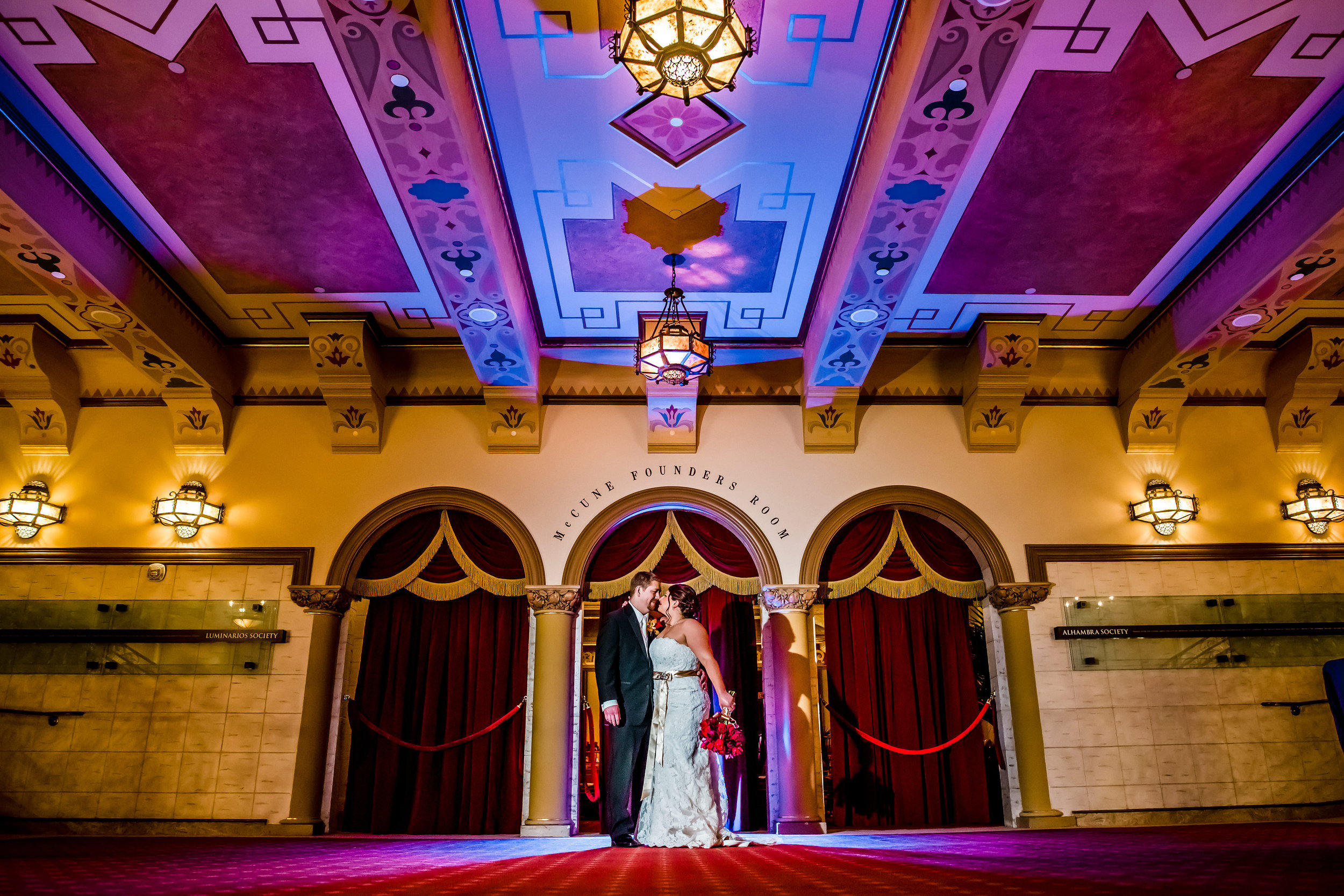 santabarbarawedding.com   The Granada Theatre   Theater Venue   Location Wedding Ceremony   Reception Venue   McCune Founders Room