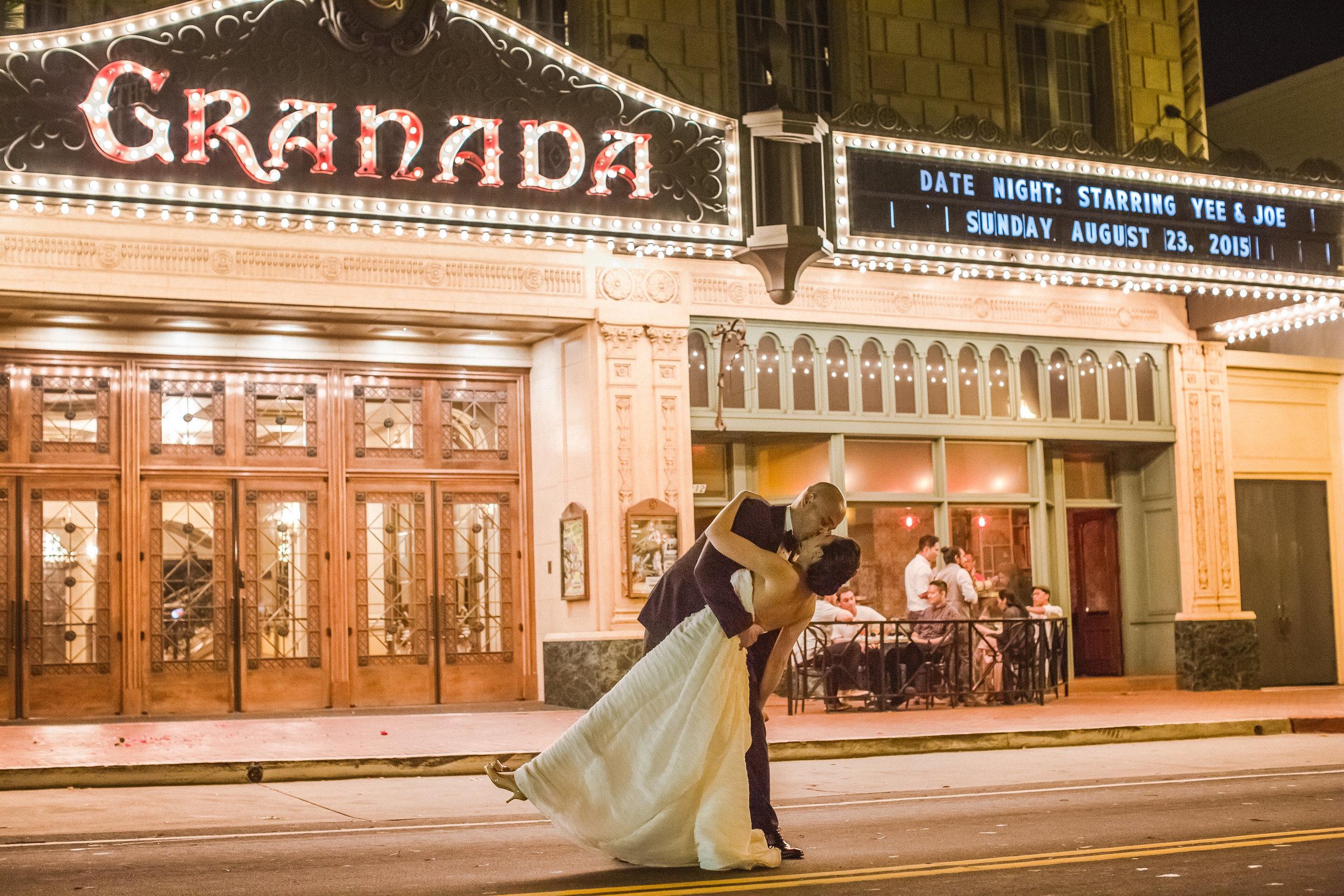 santabarbarawedding.com   The Granada Theatre   Theater Venue   Location Wedding Ceremony   Reception Venue   Marquis Photo