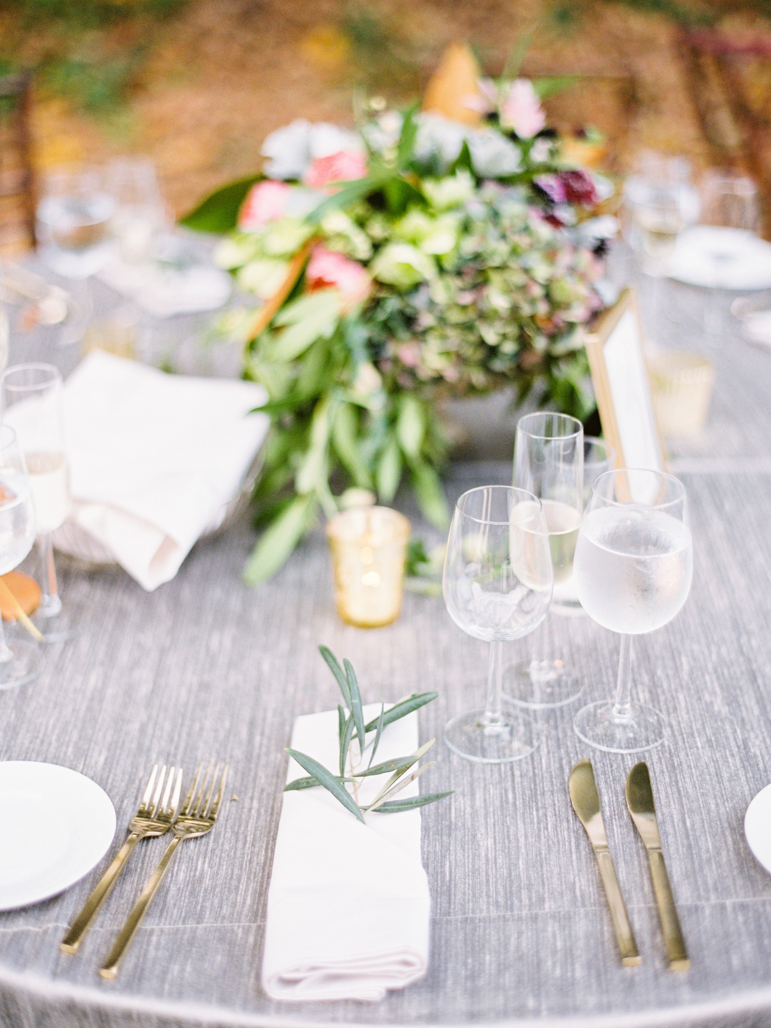 santabarbarawedding.com | Feast & Fest Catering | Table Set Up | Michael and Anna Costa Photographers