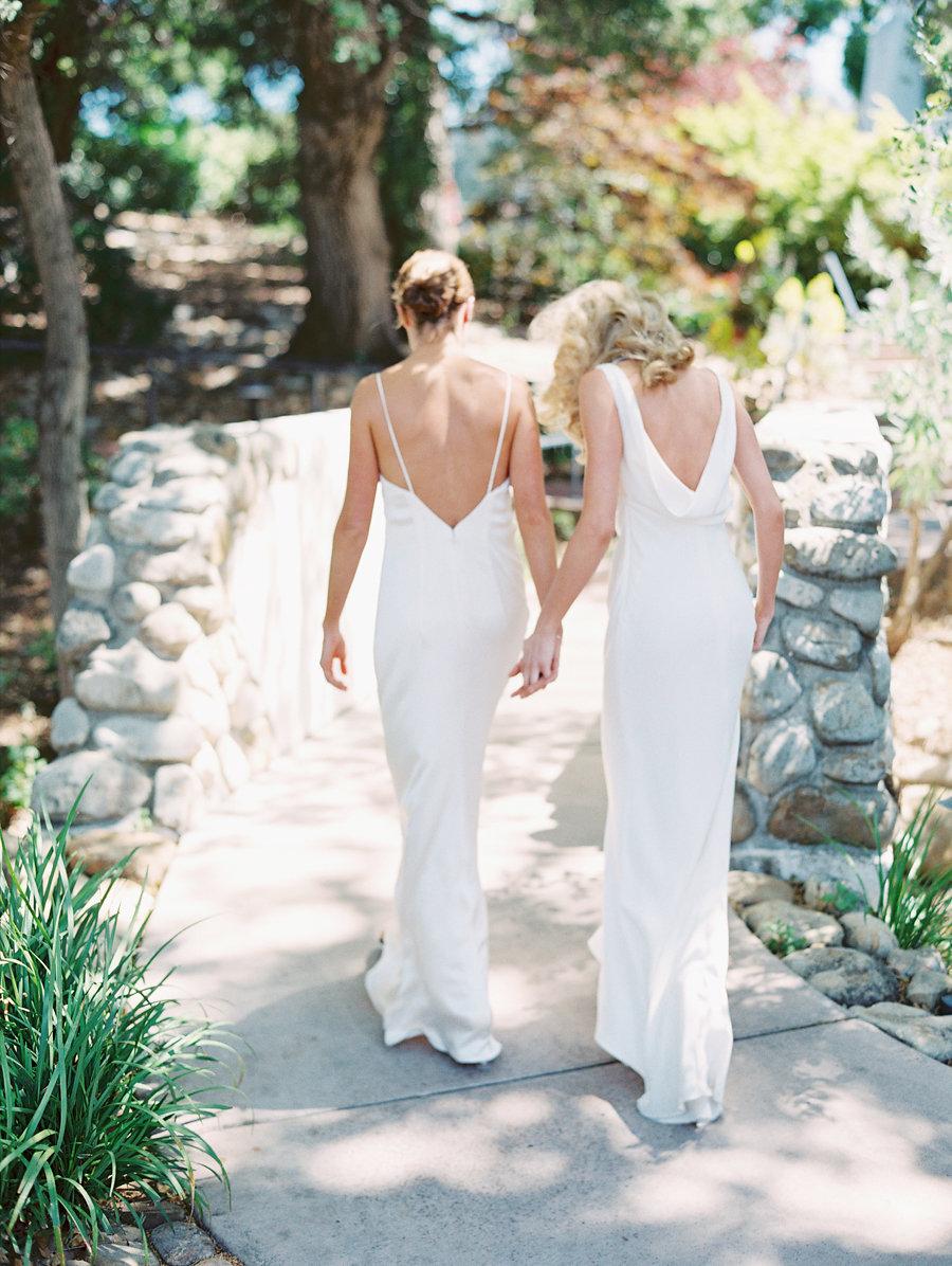 santabarbarawedding.com | photo: Lavender and Twine | Same Sex Contemporary Garden Wedding at Ojai Valley Inn