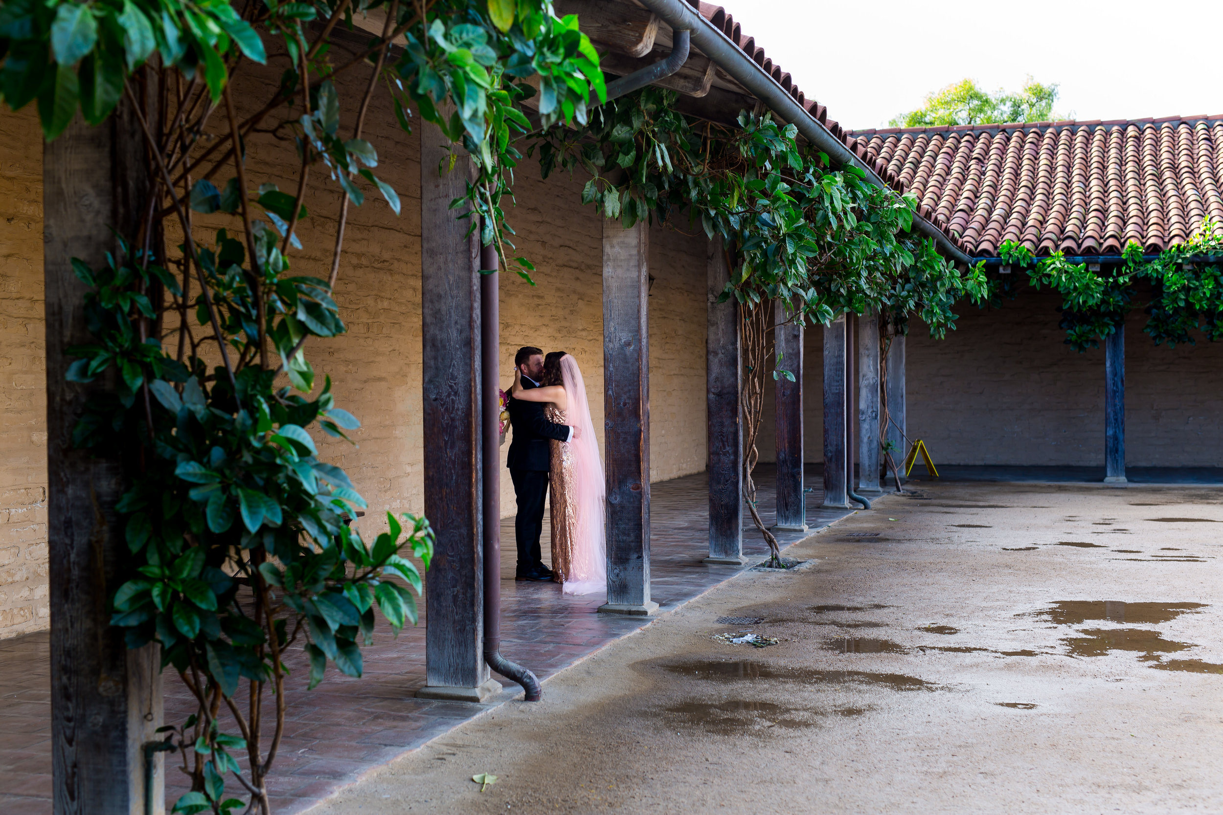 santabarbarawedding.com | Photo: Tim Halberg | Rainy Wedding Day Inspiration