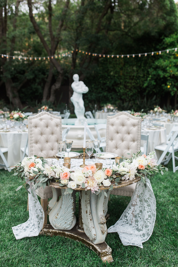 www,santabarbarawedding.com | The Tent Merchant | Gold Candle Holders | Gold Decor Inspiration | Kiel Rucker Photography