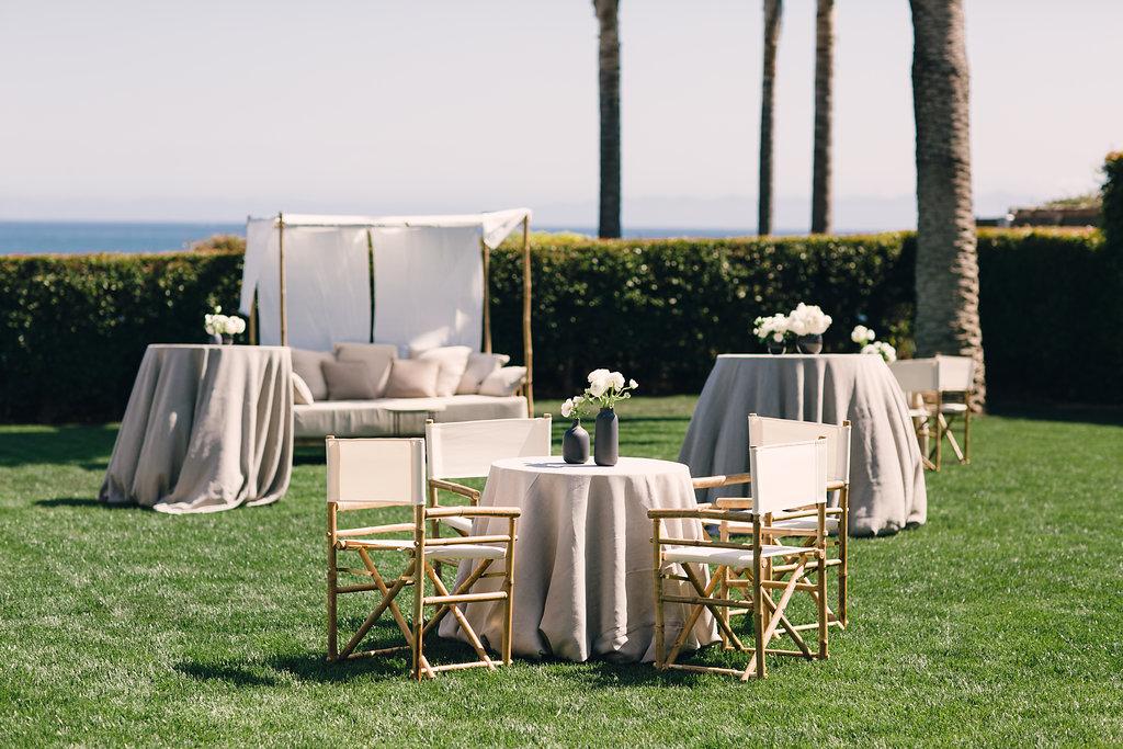 santabarbarawedding.com | Photo: Michelle Beller | Chic Black and White Wedding Ideas