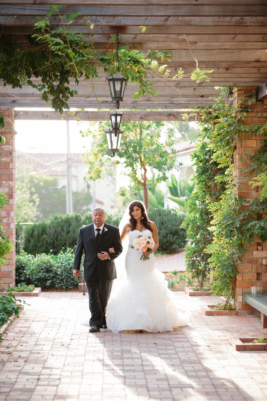 www.santabarbarawedding.com | Shane and Lauren Photography | Belmond El Encanto Santa Barbara | Hogue and Company | Father of the Bride