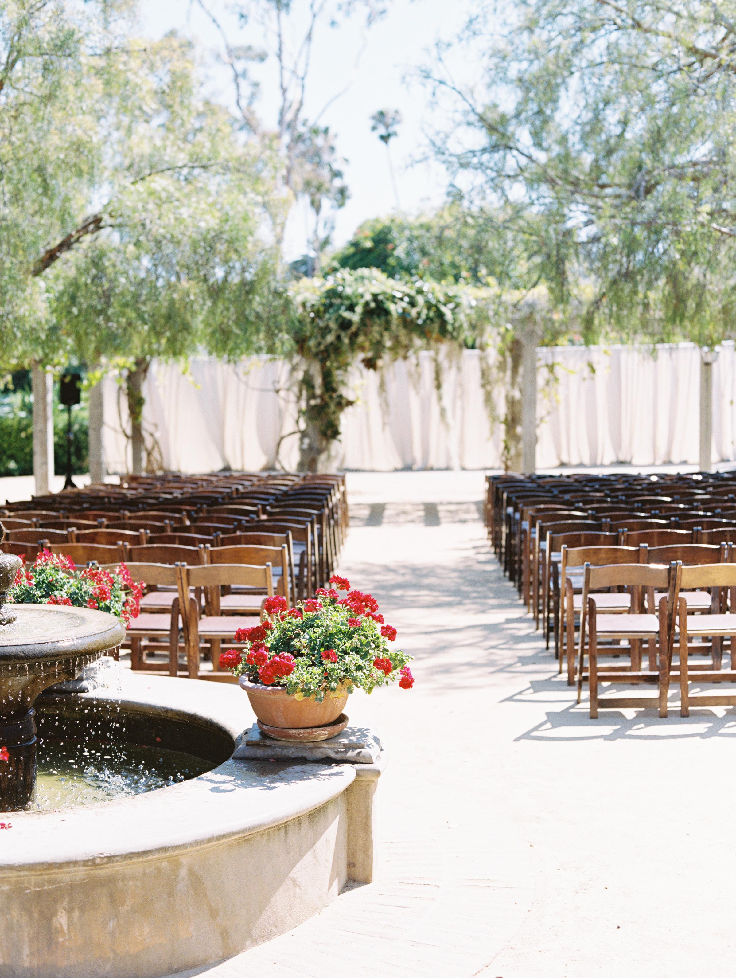 www.santabarbarawedding.com | Pat Moyer Wedding Photography & Films | Santa Barbara Historical Museum | Magnolia Weddings | Camiella Floral Designs | Ceremony