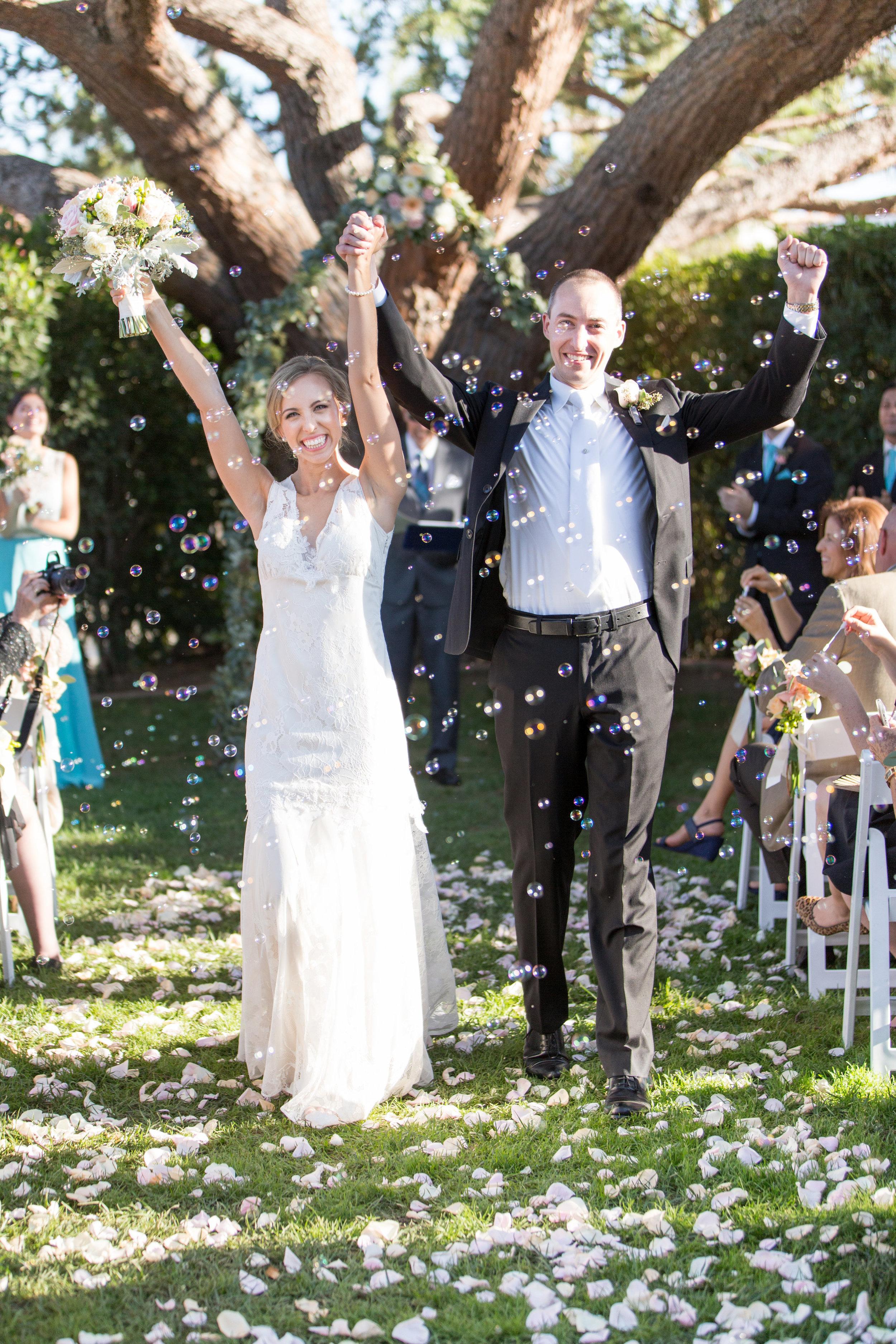 www.santabarbarawedding.com | Anna J Photography | University Club of Santa Barbara | Ceremony