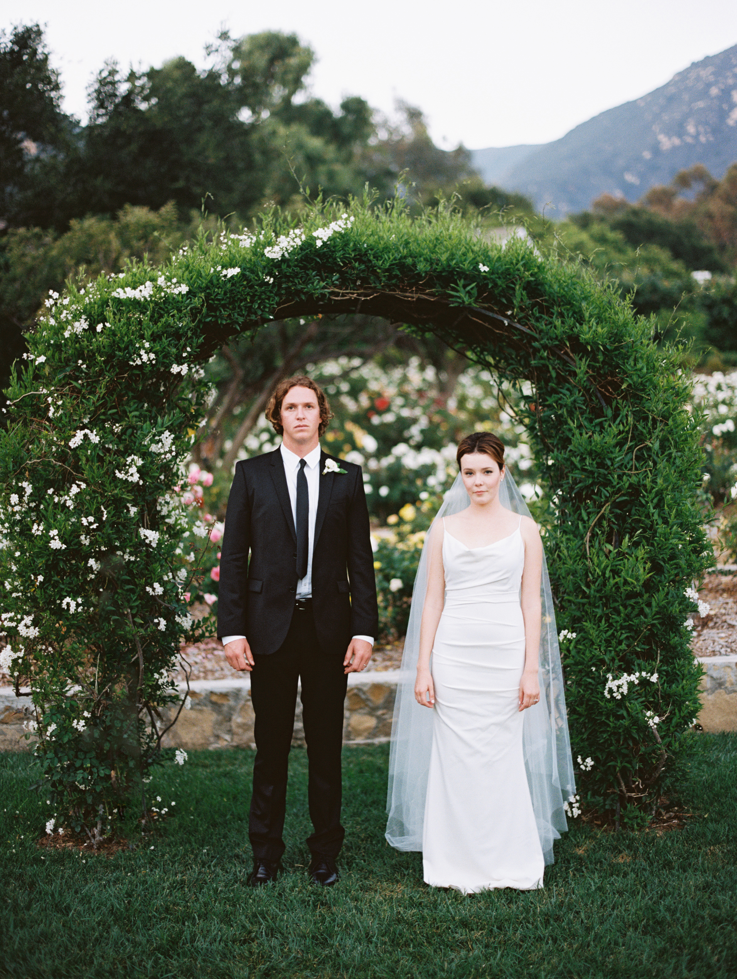 www.santabarbarawedding.com | San Ysidro Ranch | Pat Moyer Photography | Bride and Groom