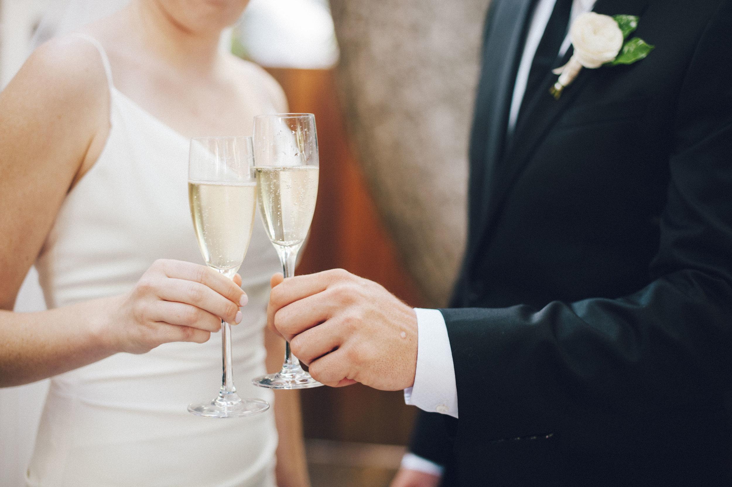 www.santabarbarawedding.com | San Ysidro Ranch | Pat Moyer Photography | Toast