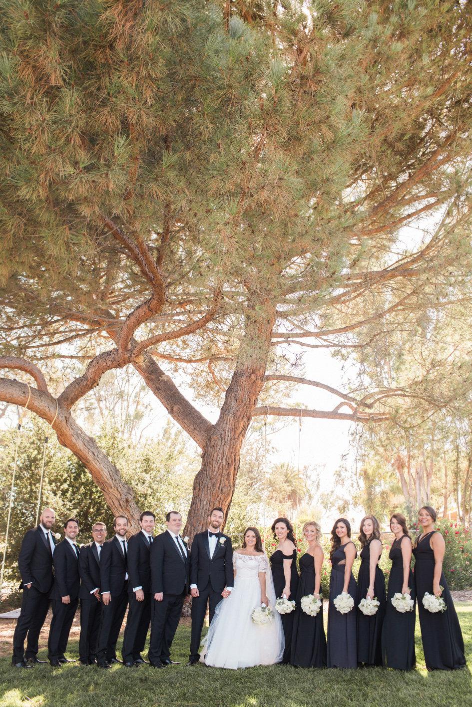 www.santabarbarawedding.com | Anna J Photography | Sogno del Fiore | Bridal Party