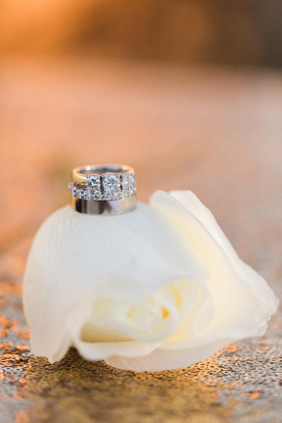 www.santabarbarawedding.com | Anna J Photography | Sogno del Fiore | Wedding Rings