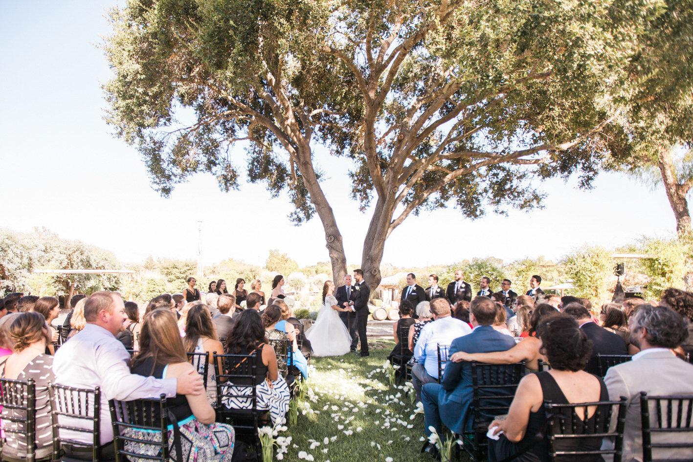 www.santabarbarawedding.com | Anna J Photography | Sogno del Fiore | Ceremony