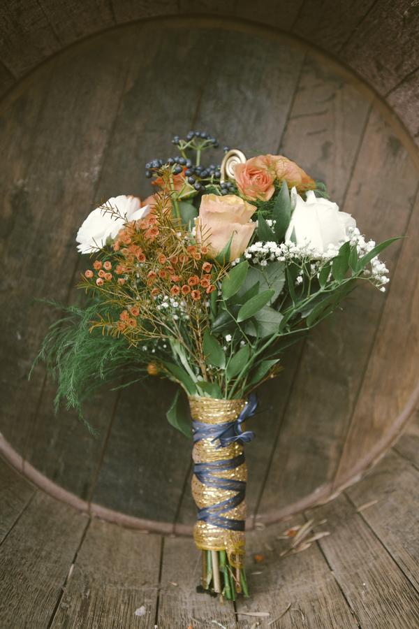 www.santabarbarawedding.com | By Cherry Photography | Rincon Beach Club | Bridal Bouquet