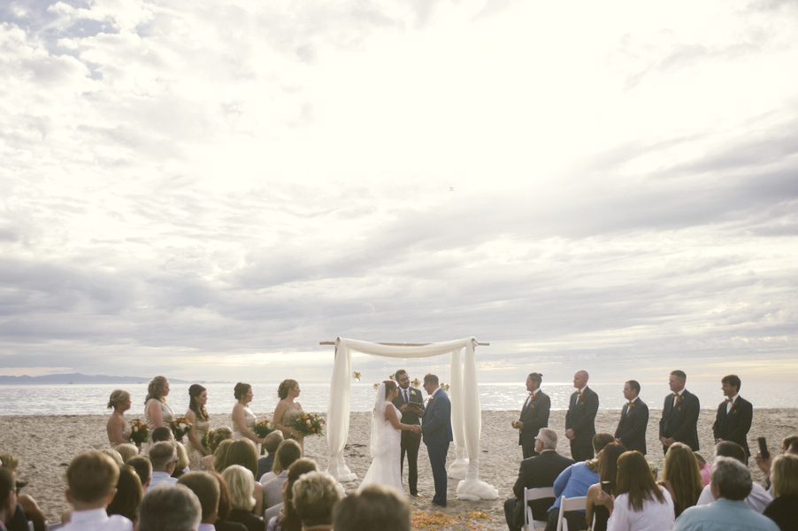 www.santabarbarawedding.com | By Cherry Photography | Rincon Beach Club | Ceremony