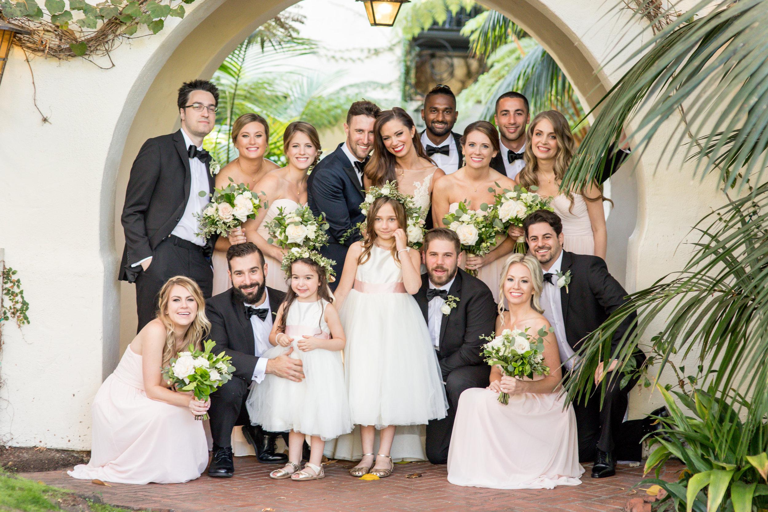 www.santabarbarawedding.com | Waller Weddings | KB Events | Bridal Party