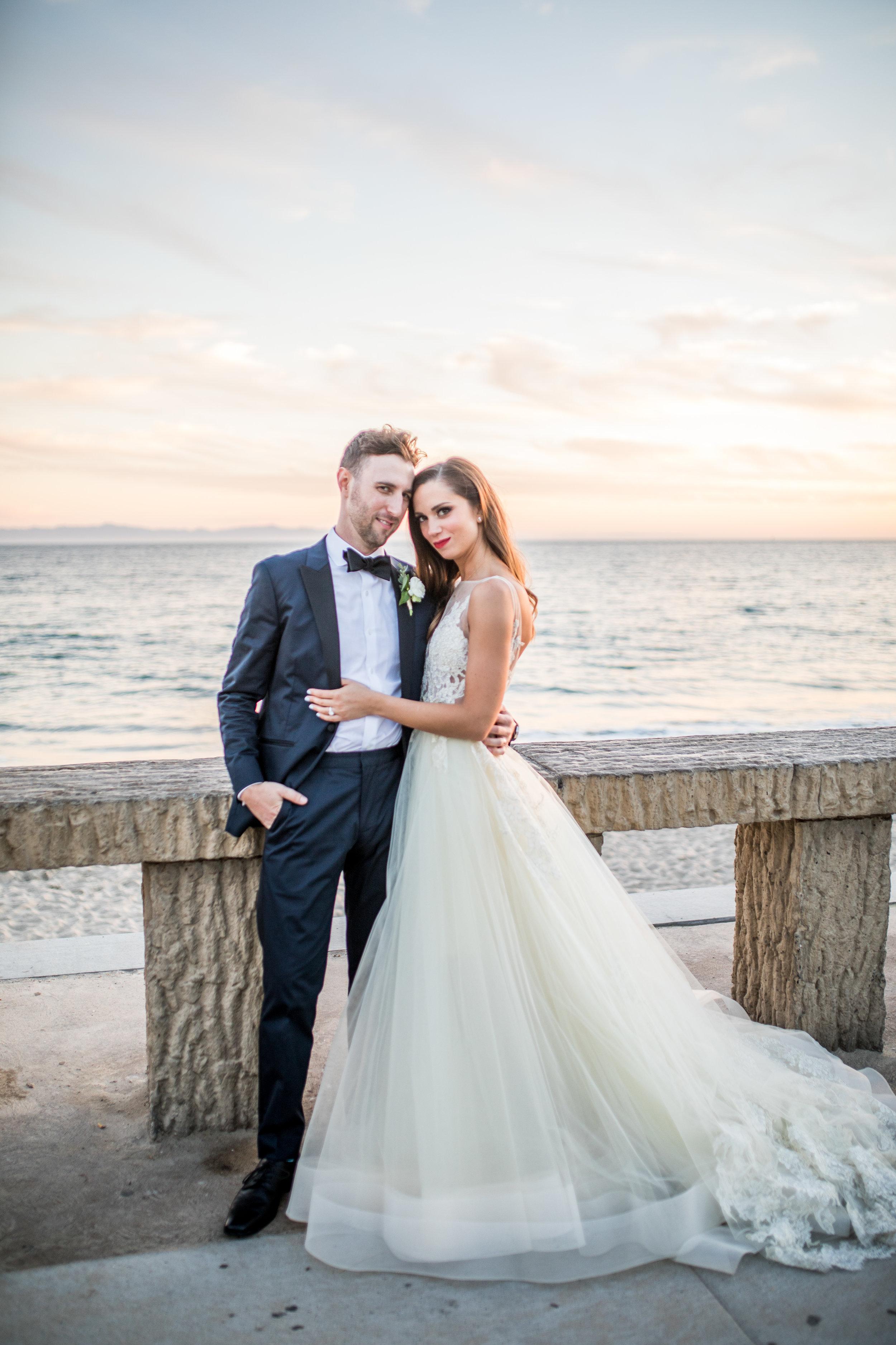www.santabarbarawedding.com | Waller Weddings | KB Events | Bride and Groom