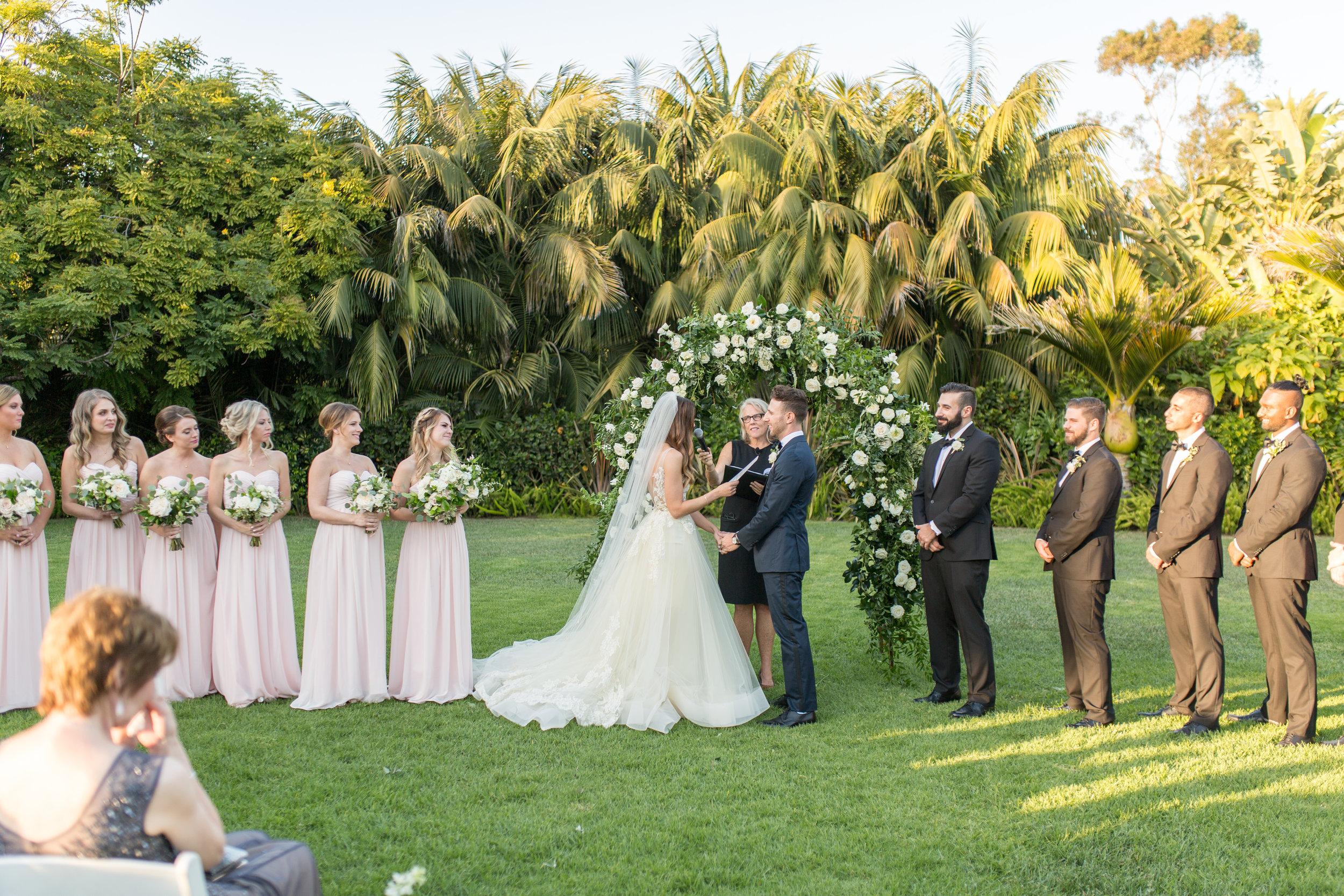 www.santabarbarawedding.com | Waller Weddings | KB Events | Ceremony