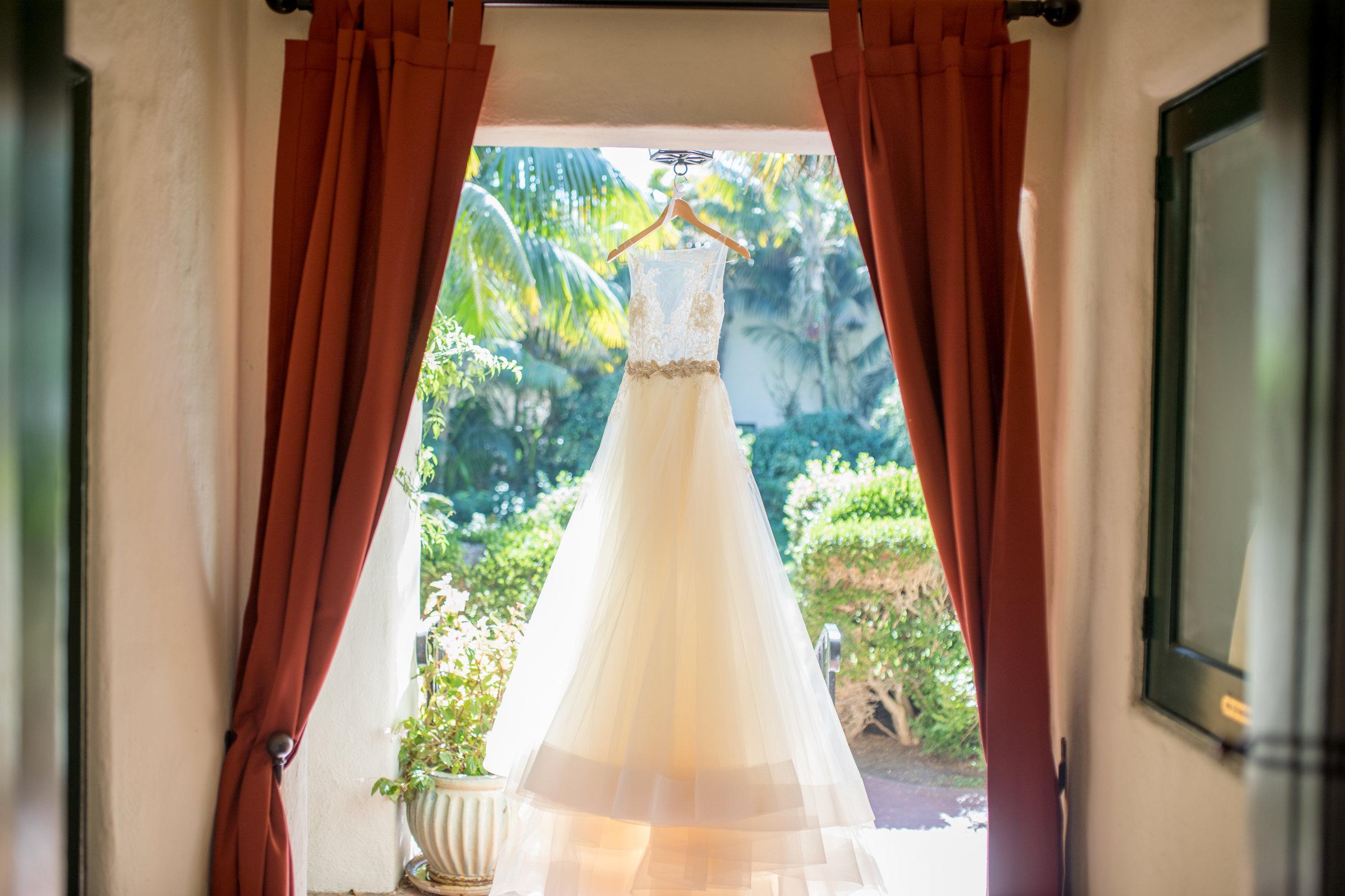 www.santabarbarawedding.com | Waller Weddings | KB Events | Wedding Dress
