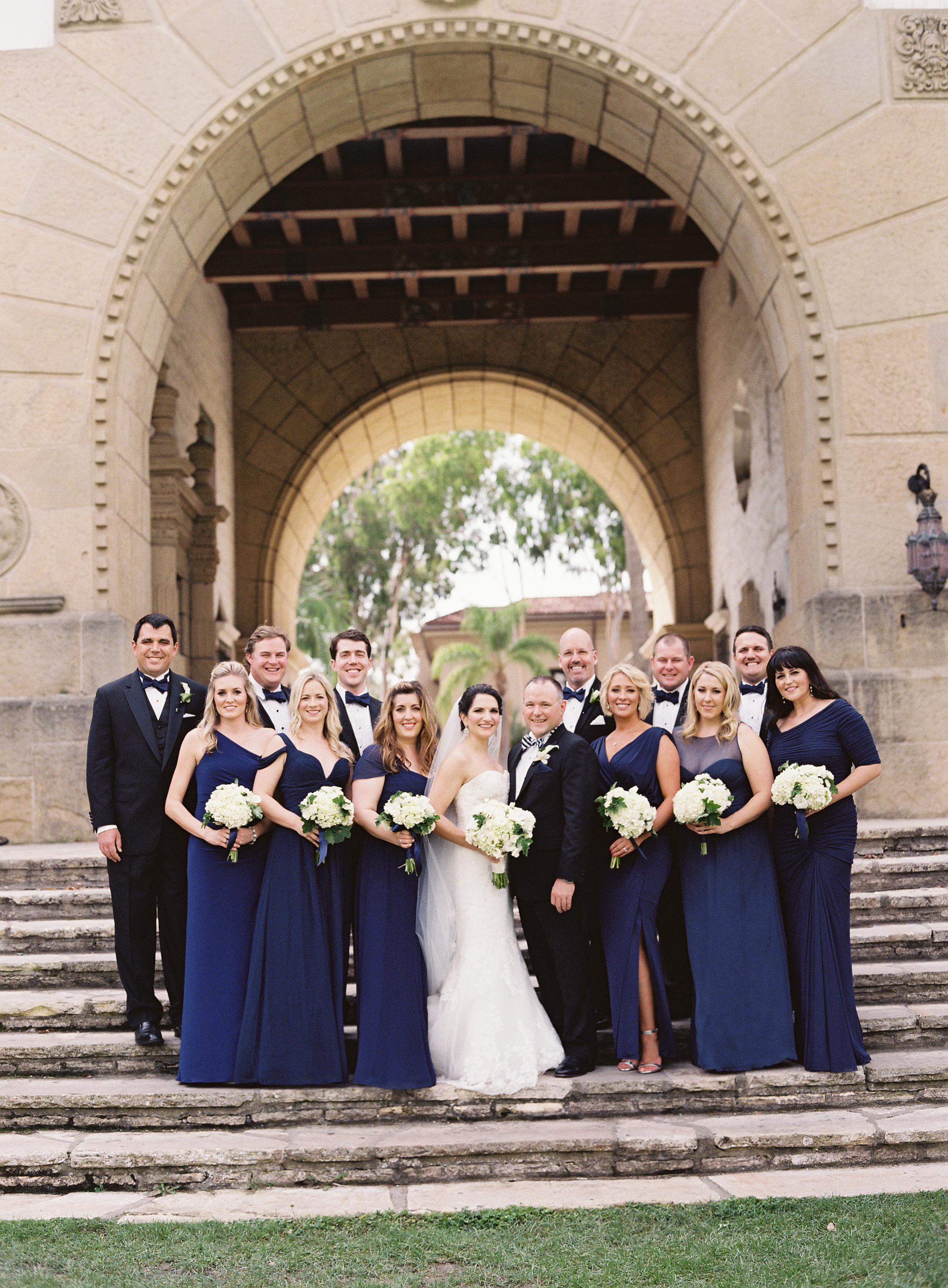 www.santabarbarawedding.com | Linda Chaja Photography | Santa Barbara Museum of Natural History Sea Center | Bridesmaids