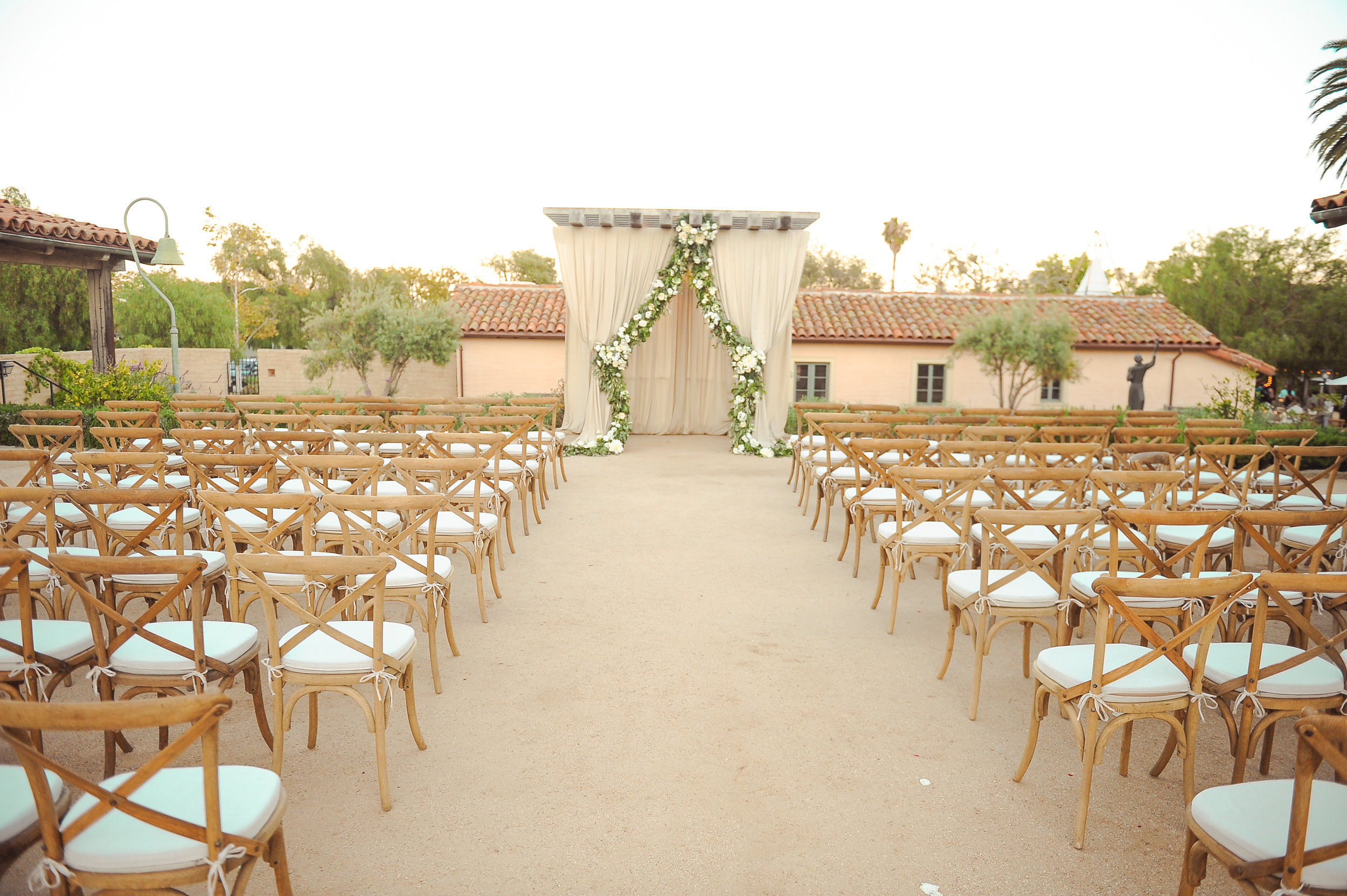 www.santabarbarawedding.com | JKoe Photography | Santa Barbara Historical Museum | Ceremony