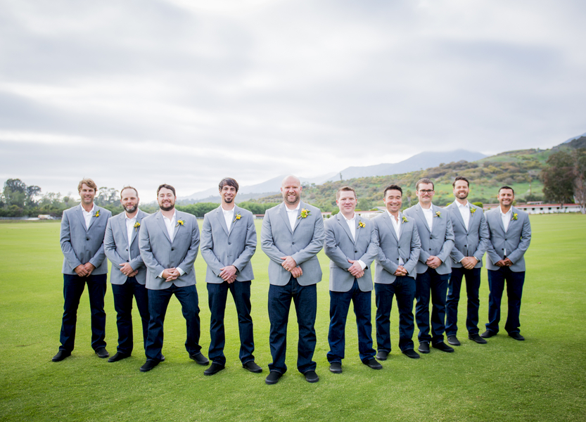 www.santabarbarawedding.com | Willa Kveta Photography | Santa Barbara Polo and Racquet Club | Groomsmen