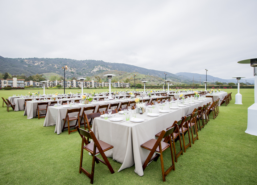www.santabarbarawedding.com | Willa Kveta Photography | Santa Barbara Polo and Racquet Club | Reception Tables