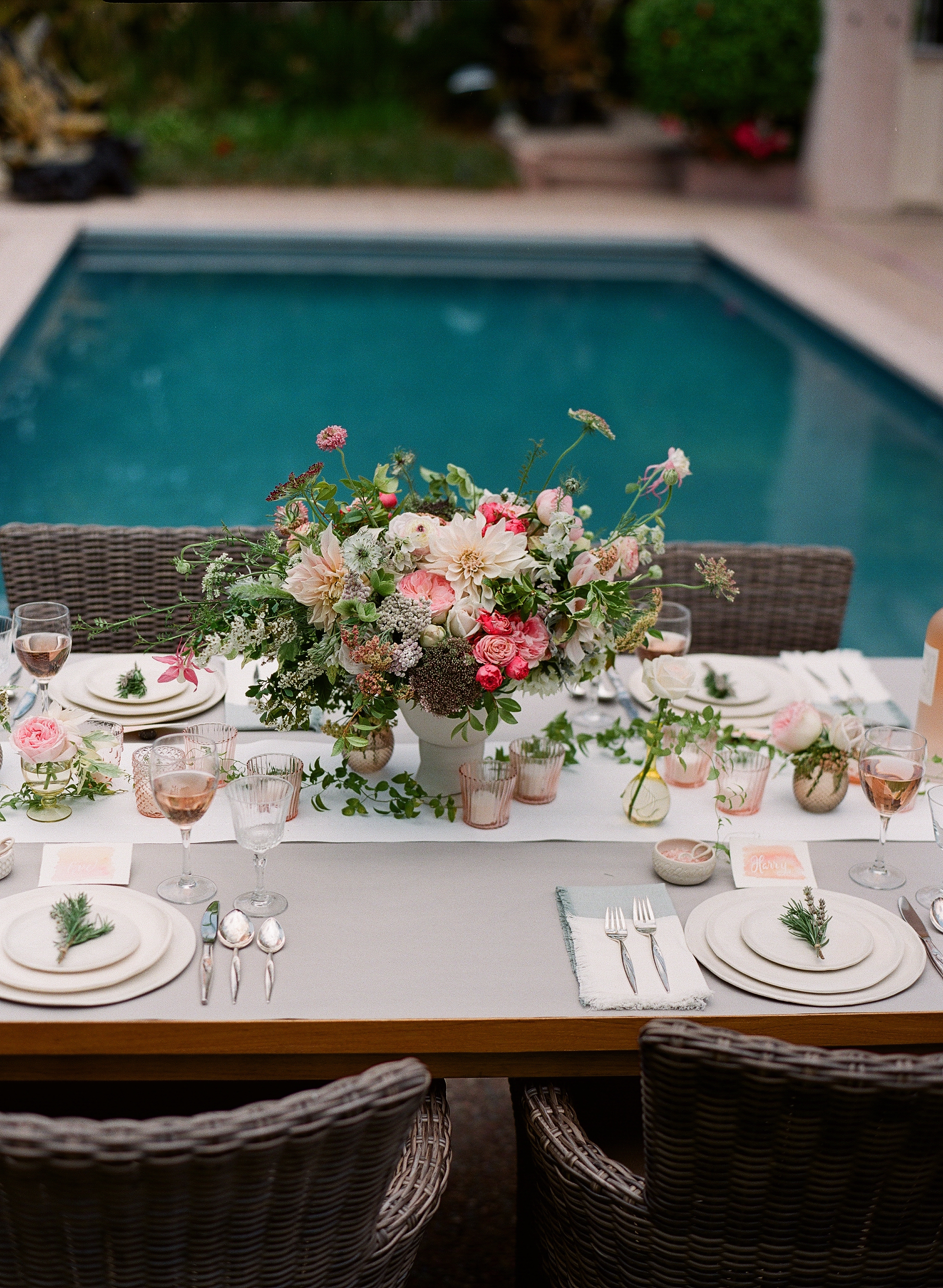 www.santabarbarawedding.com | Megan Sorel Photography | Reception Table
