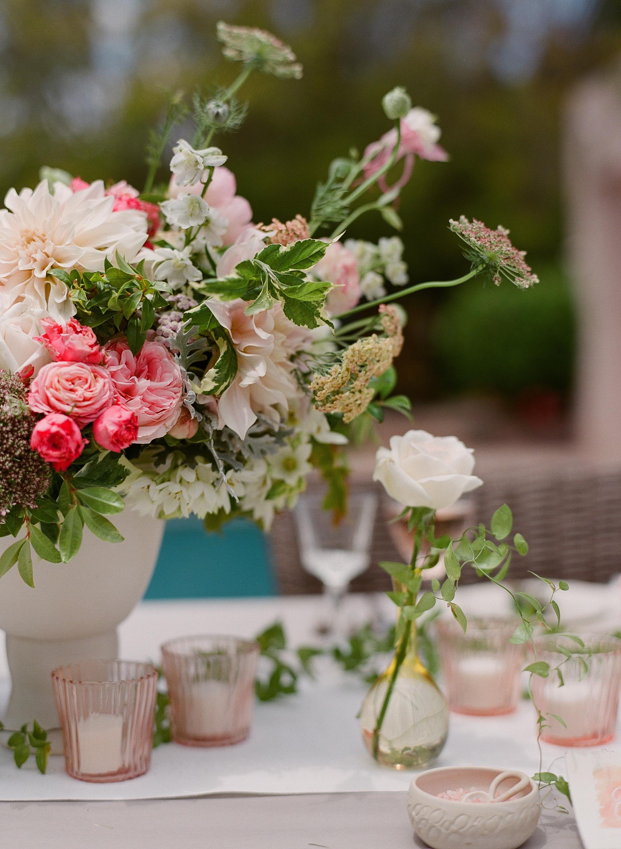 www.santabarbarawedding.com | Megan Sorel Photography | Flower Arrangement