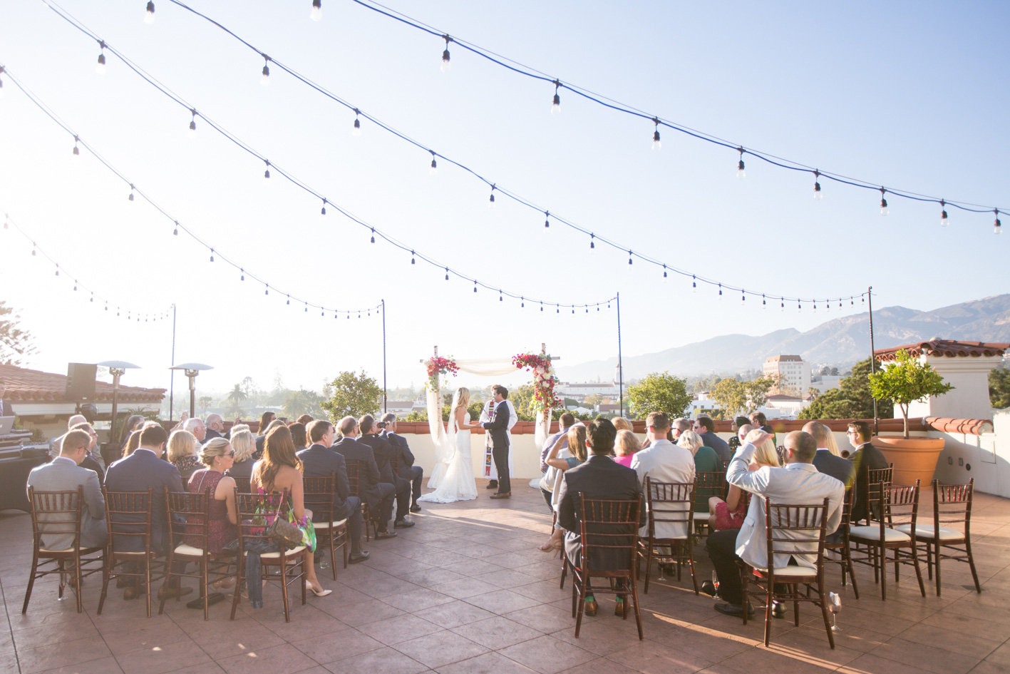 www.santabarbarawedding.com | Anna J Photography | Canary Hotel | Ceremony
