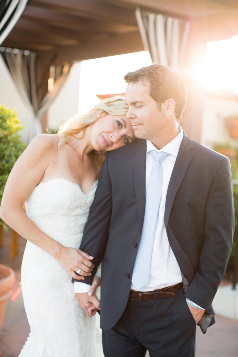 www.santabarbarawedding.com | Anna J Photography | Canary Hotel | Bride and Groom
