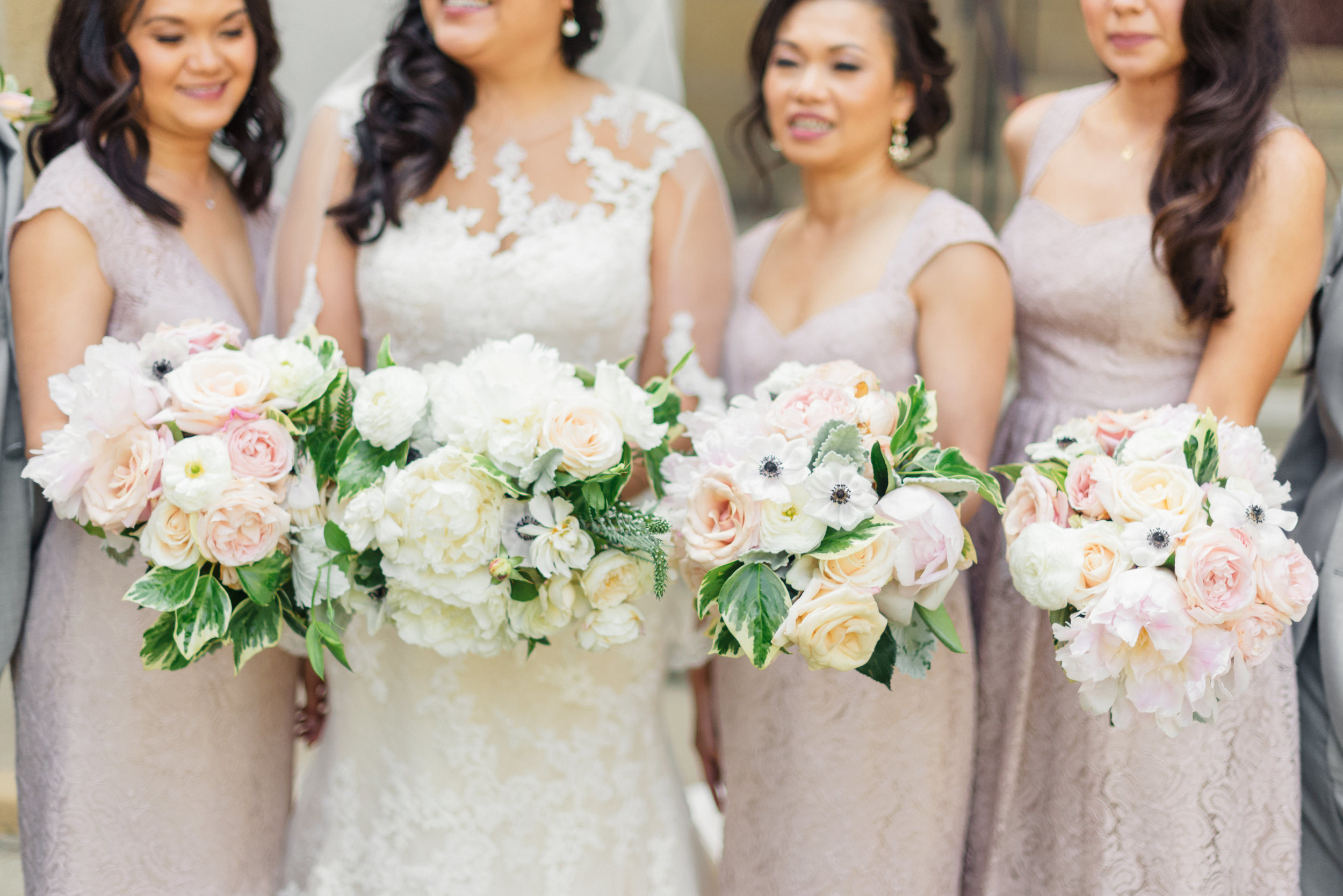 www.santabarbarawedding.com | Sanaz Photography | The Riviera Mansion | Bridesmaids