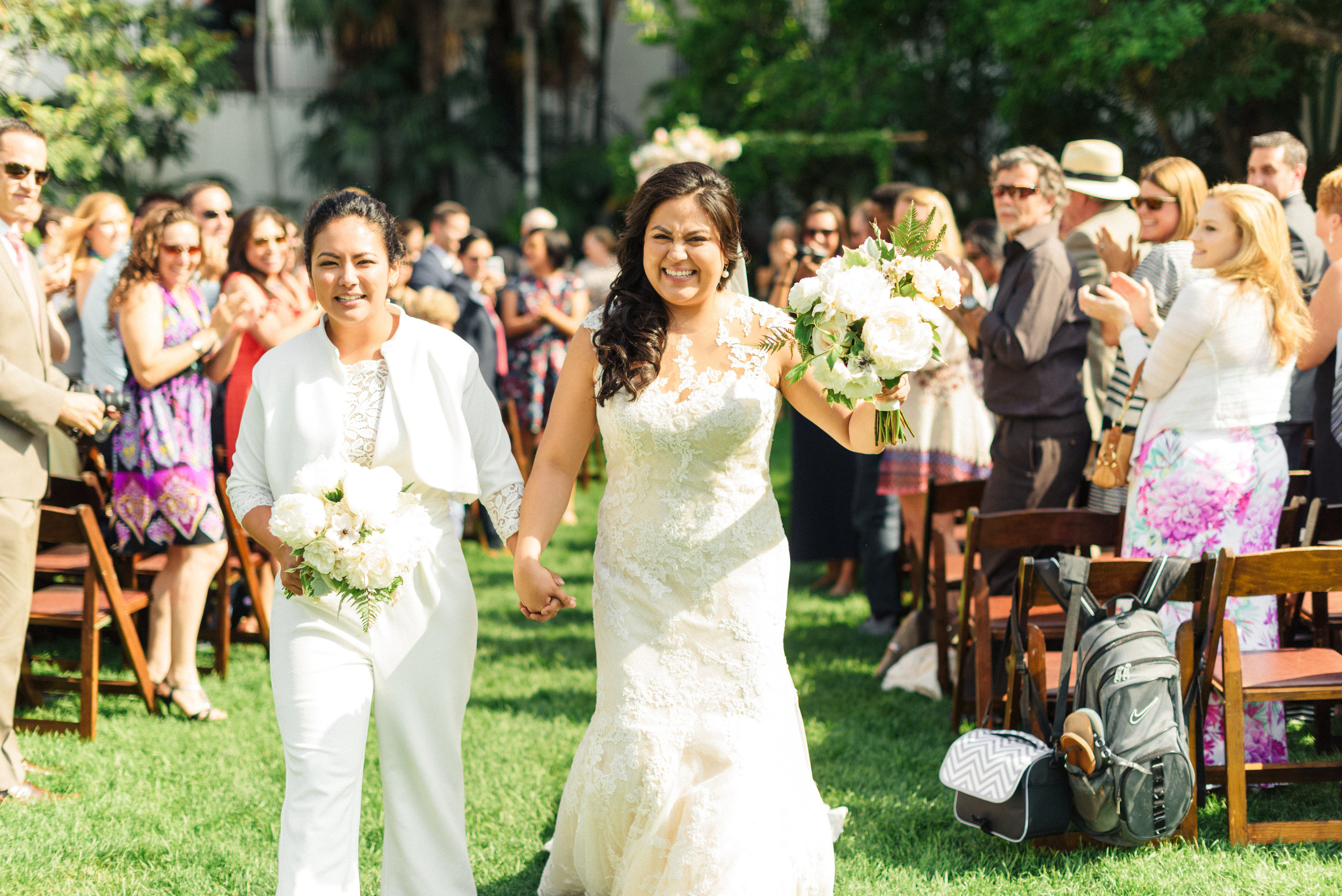 www.santabarbarawedding.com | Sanaz Photography | The Riviera Mansion | Ceremony