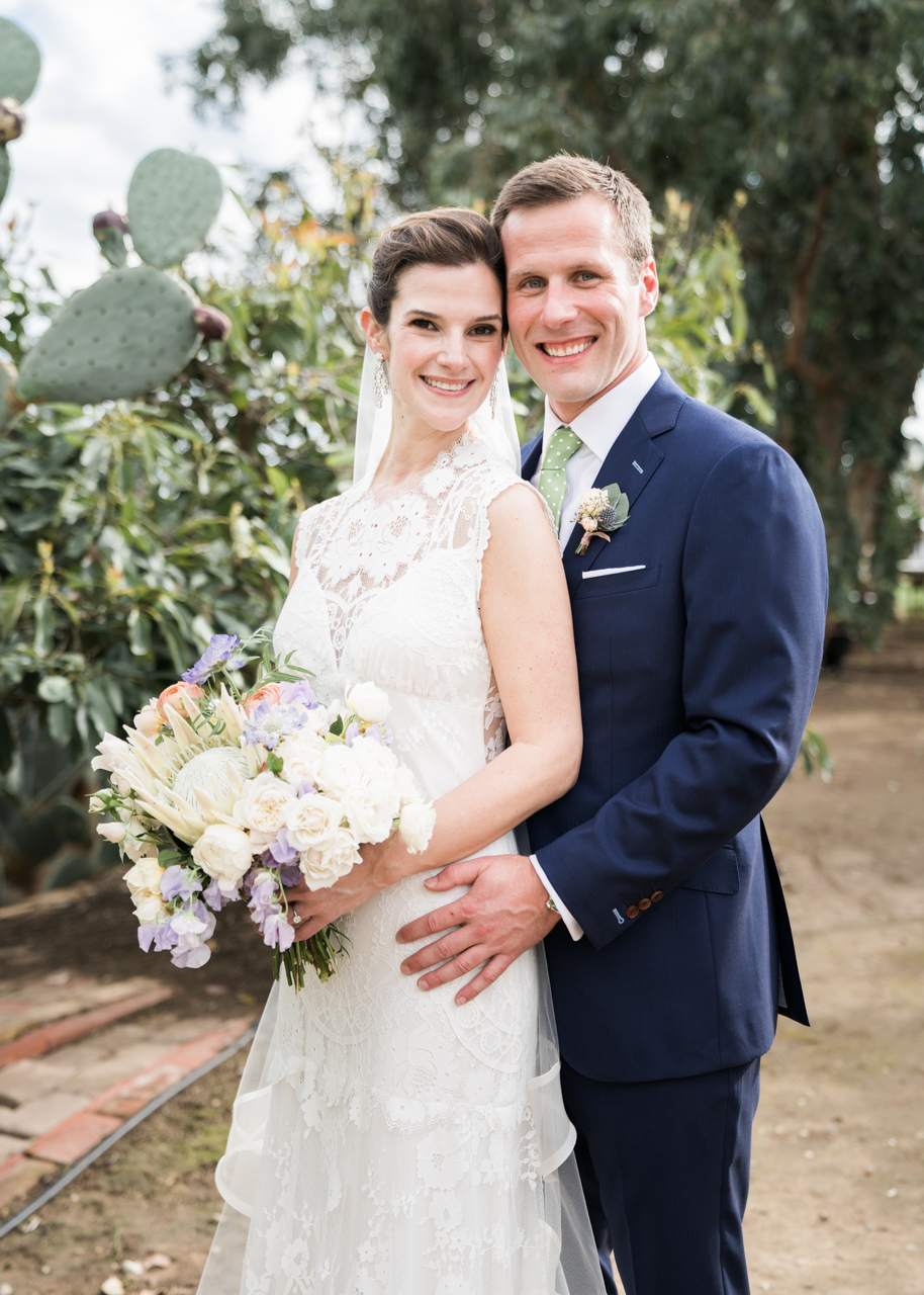 www.santabarbarawedding.com | Percy Sales Events | Brian Saculles Photography | Bride and Groom