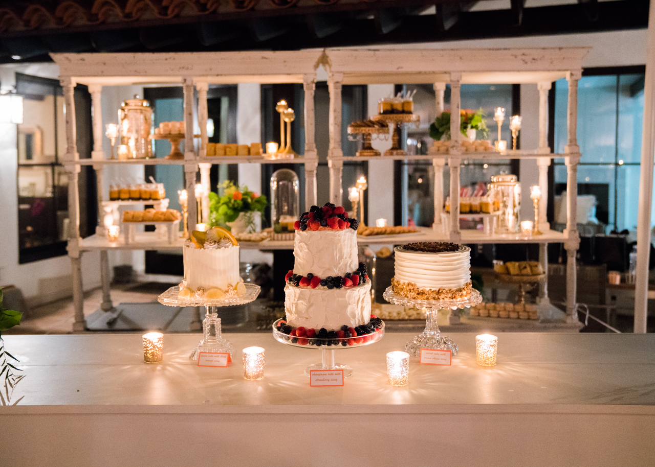 www.santabarbarawedding.com | Percy Sales Events | Brian Saculles Photography | Wedding Cake