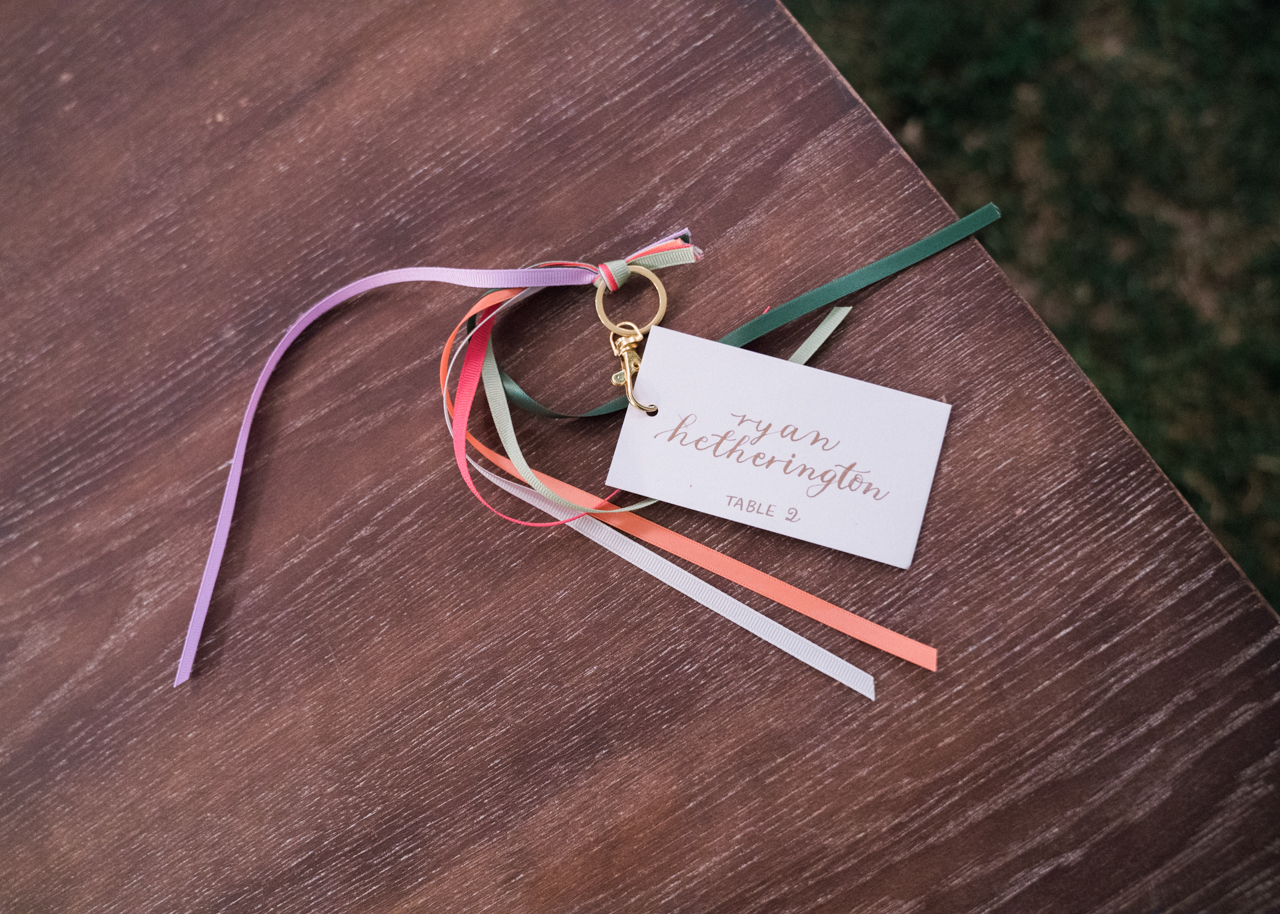 www.santabarbarawedding.com | Percy Sales Events | Brian Saculles Photography | Escort Cards