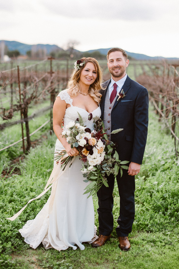 www.santabarbarawedding.com | Grace Kathryn Photography | Sunstone Winery | Bride and Groom