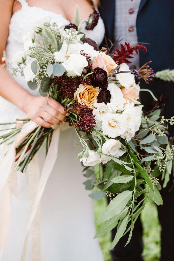 www.santabarbarawedding.com   Grace Kathryn Photography   Sunstone Winery   Bridal Bouquet