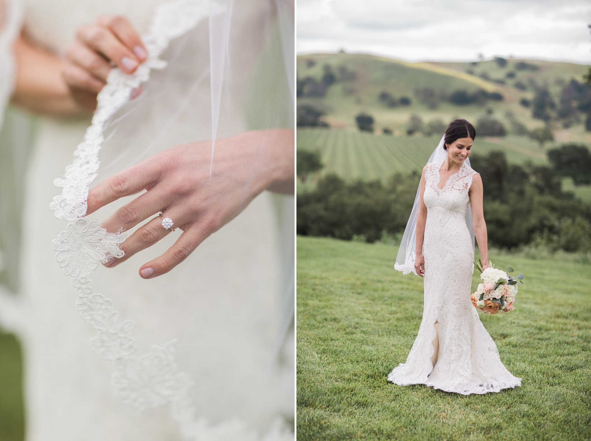 www.santabarbarawedding.com | Anna J Photography | Firestone Vineyard | Bride's Details