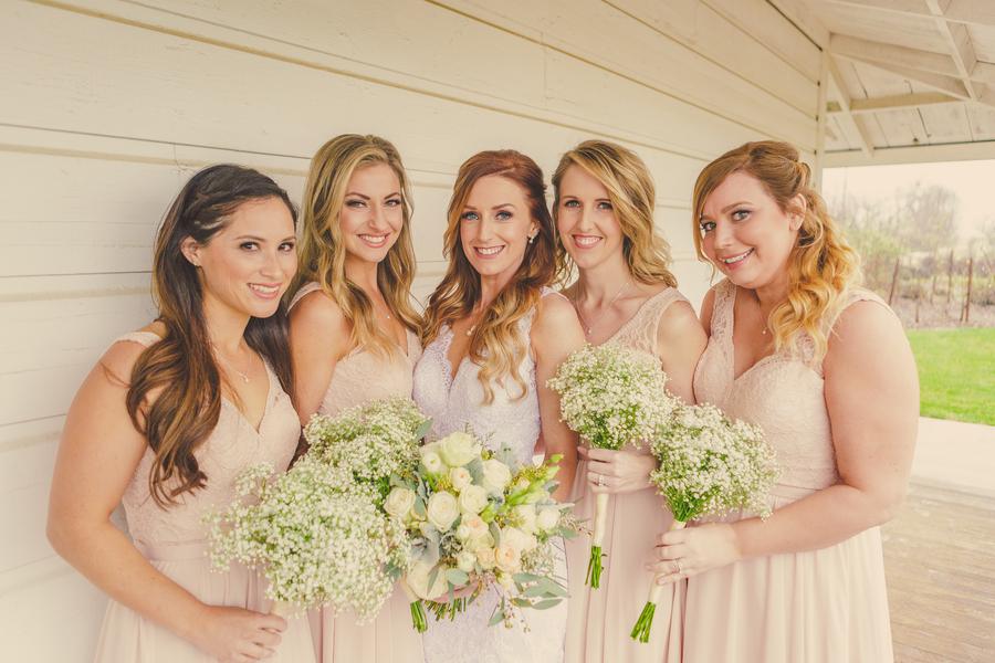 www.santabarbarawedding.com | Kramer Events | Santa Margarita Ranch | Bridesmaids