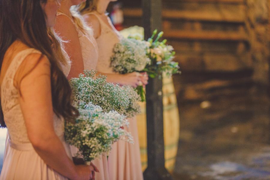 www.santabarbarawedding.com | Kramer Events | Santa Margarita Ranch | Bridesmaids' Bouquets