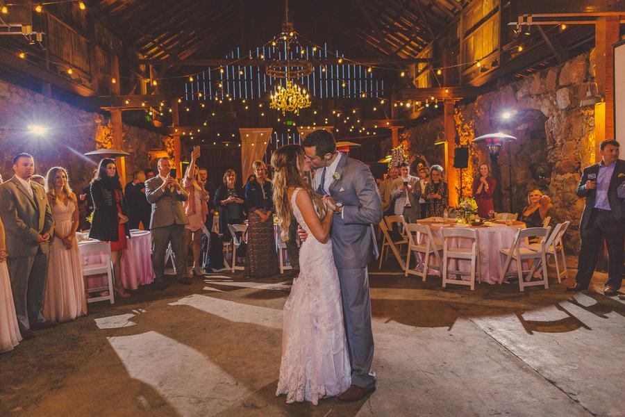 www.santabarbarawedding.com | Kramer Events | Santa Margarita Ranch | Bride and Groom | First Dance