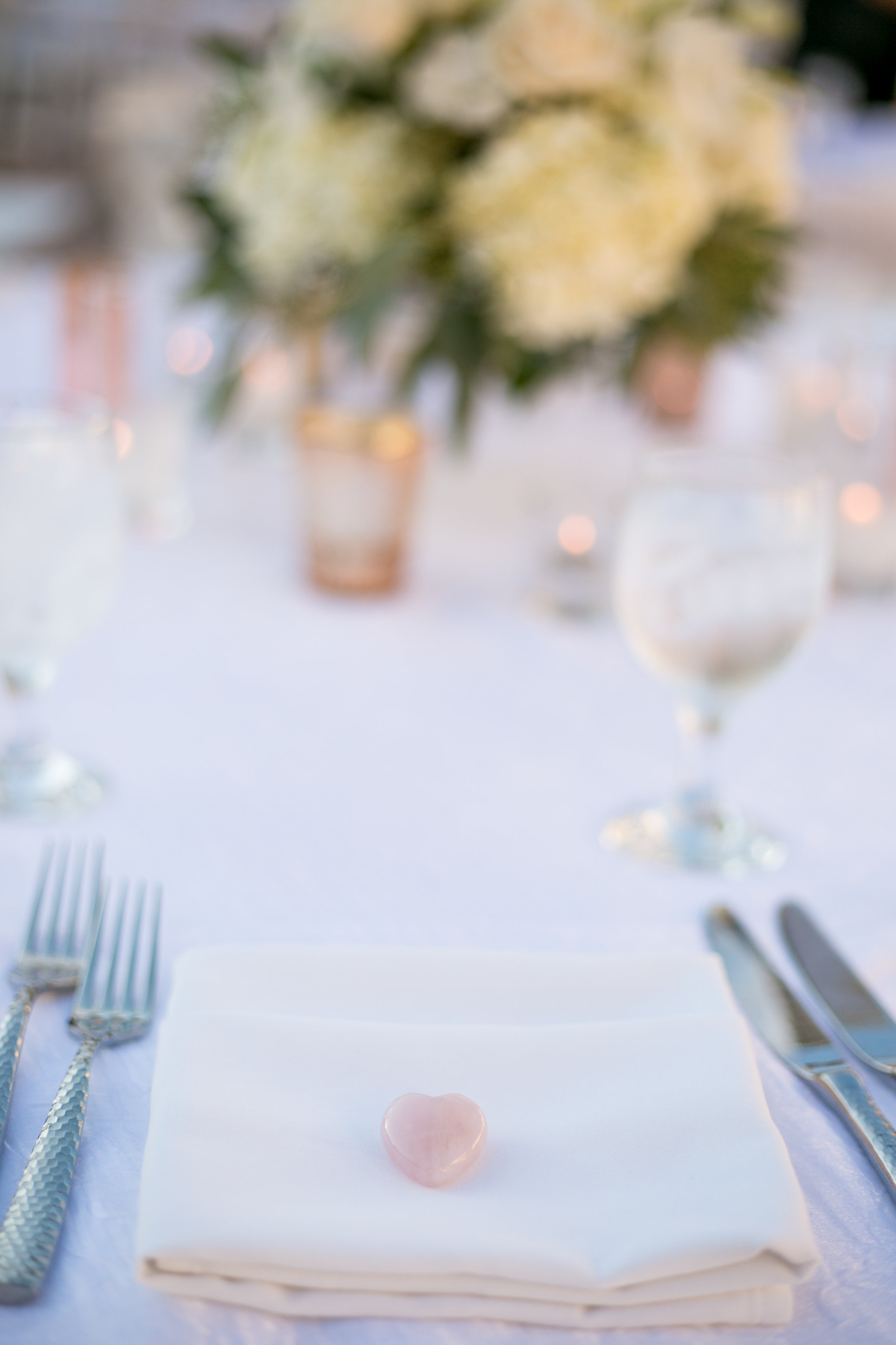 www.santabarbarawedding.com | Chris Schmitt Photography | Felici Events | Fess Parker Double Tree | Reception Place Setting