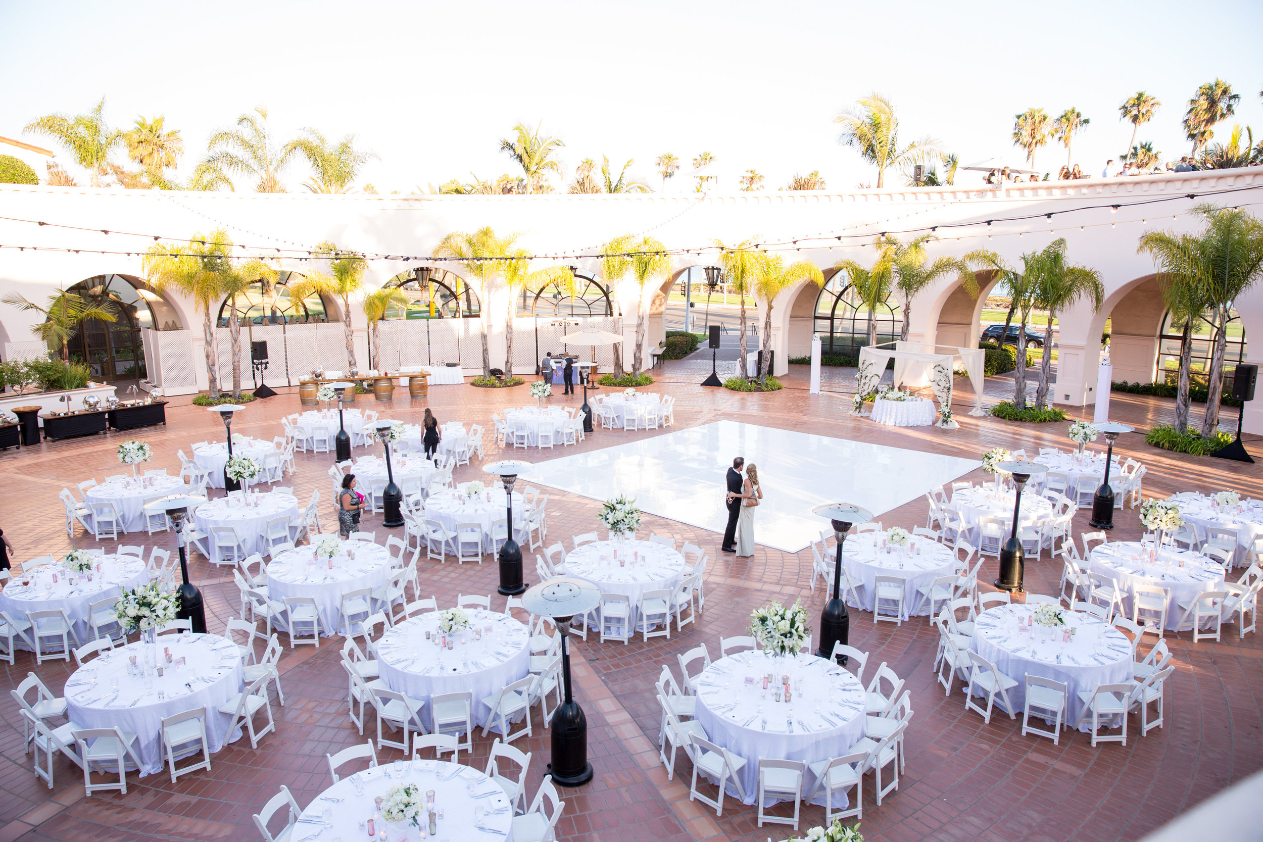 www.santabarbarawedding.com | Chris Schmitt Photography | Felici Events | Fess Parker Double Tree | Reception